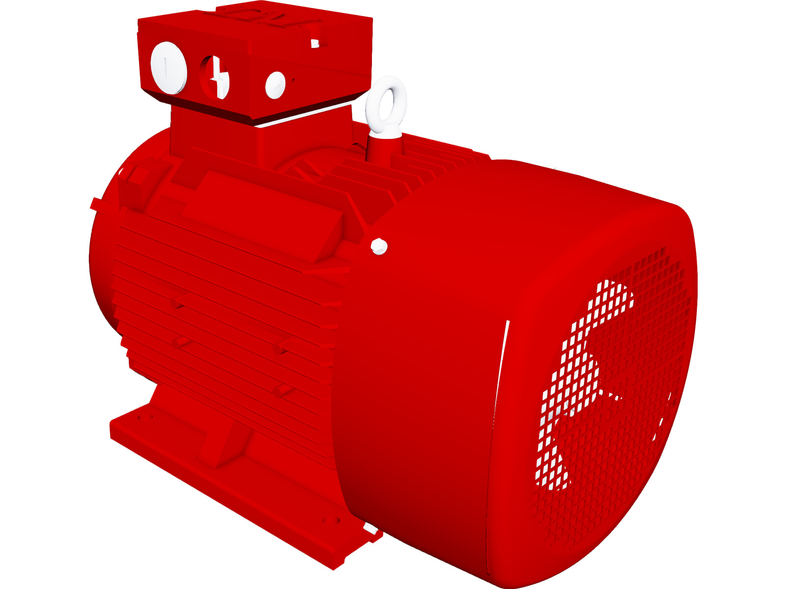 electric motor dm1 160l 3d cad model 3d cad browser