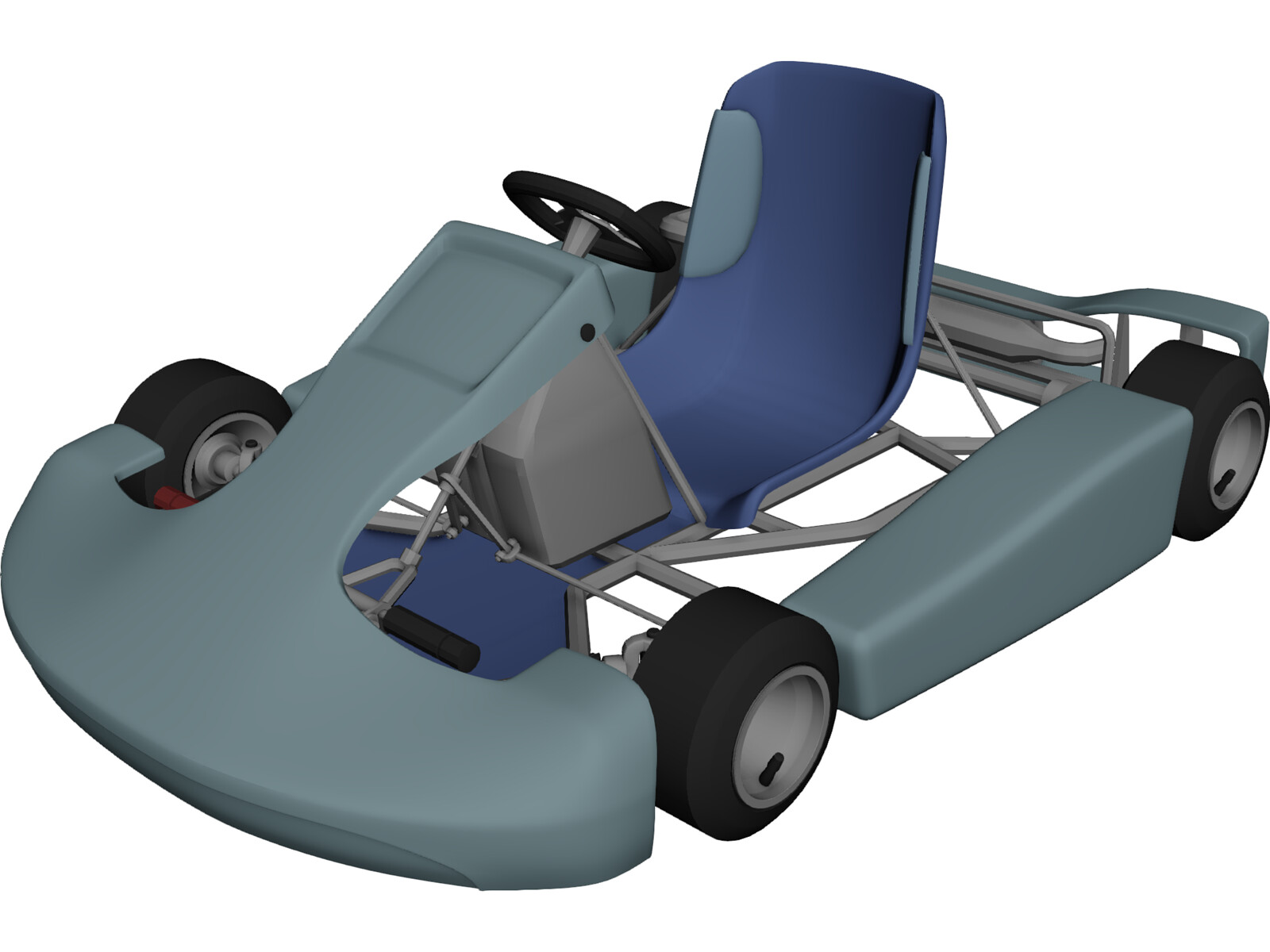 3d kart Kart 3D Model   3D CAD Browser 3d kart
