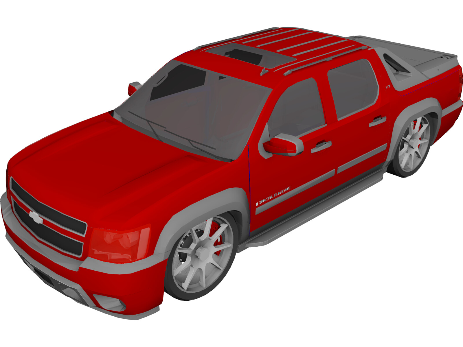 Chevrolet Avalanche (2009) 3D Model