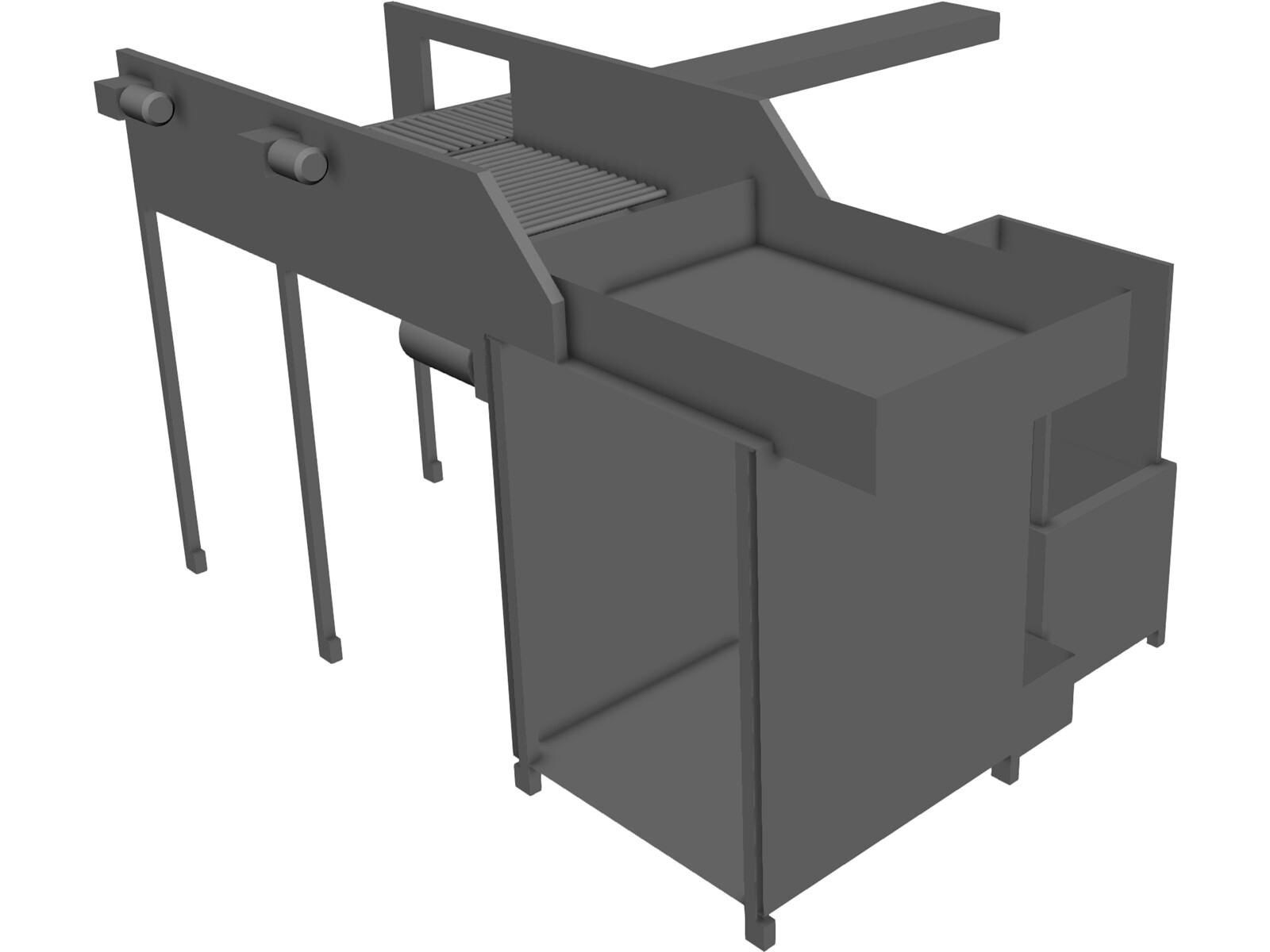 Top Load Palletizer 3D Model
