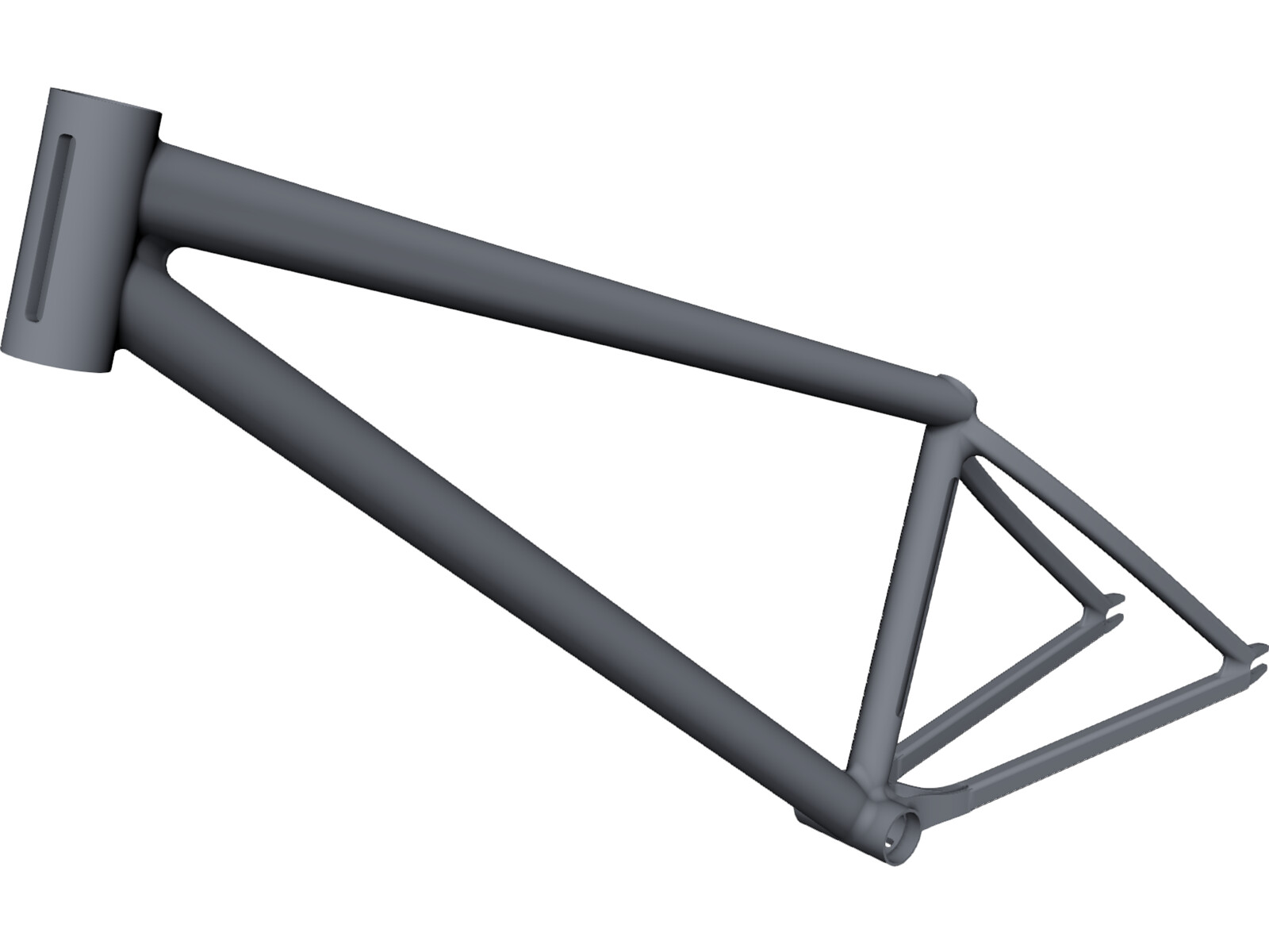 Dirt Bike Frame 3D CAD Model - 3D CAD Browser
