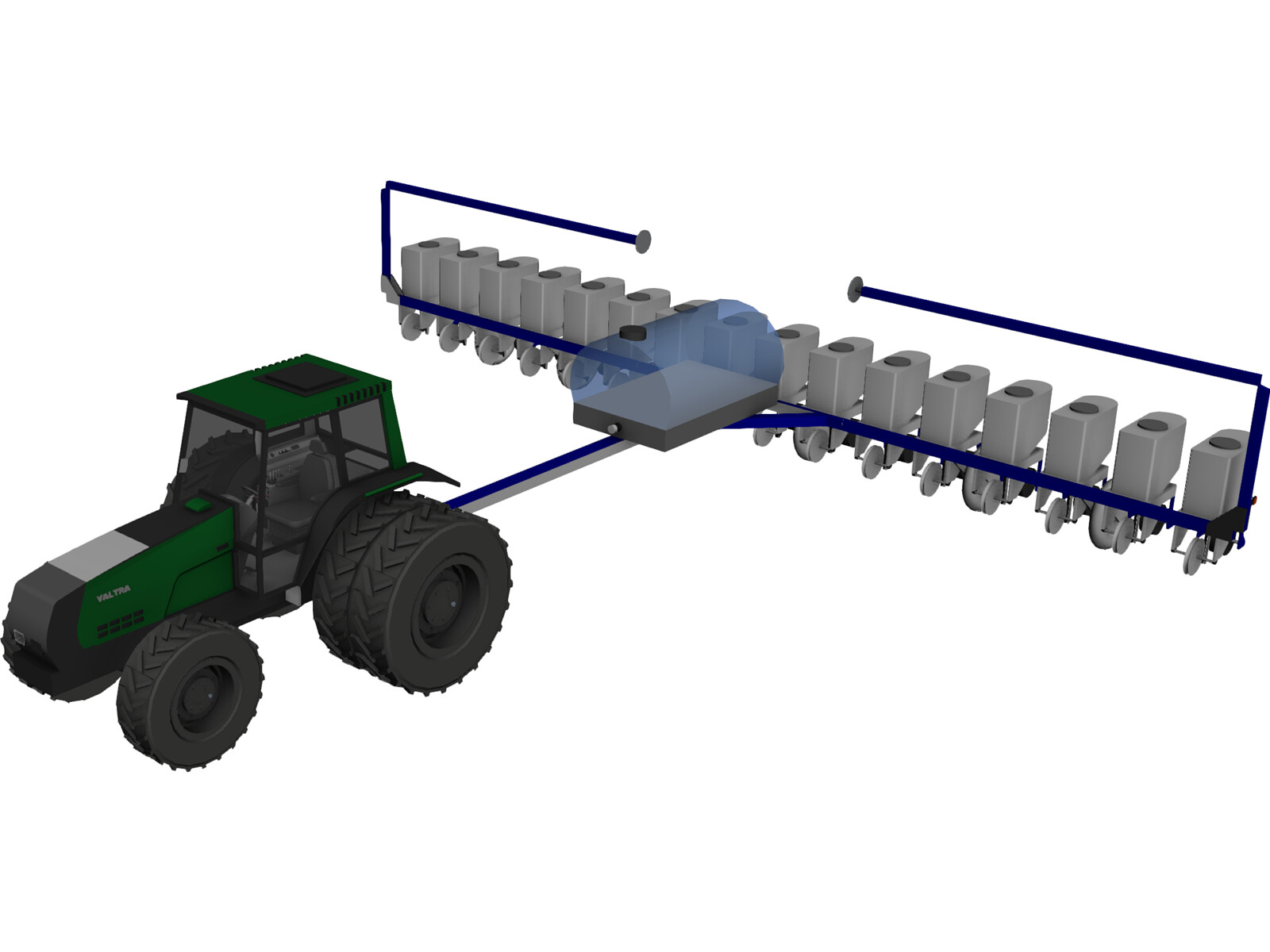 Kinze Corn Planter