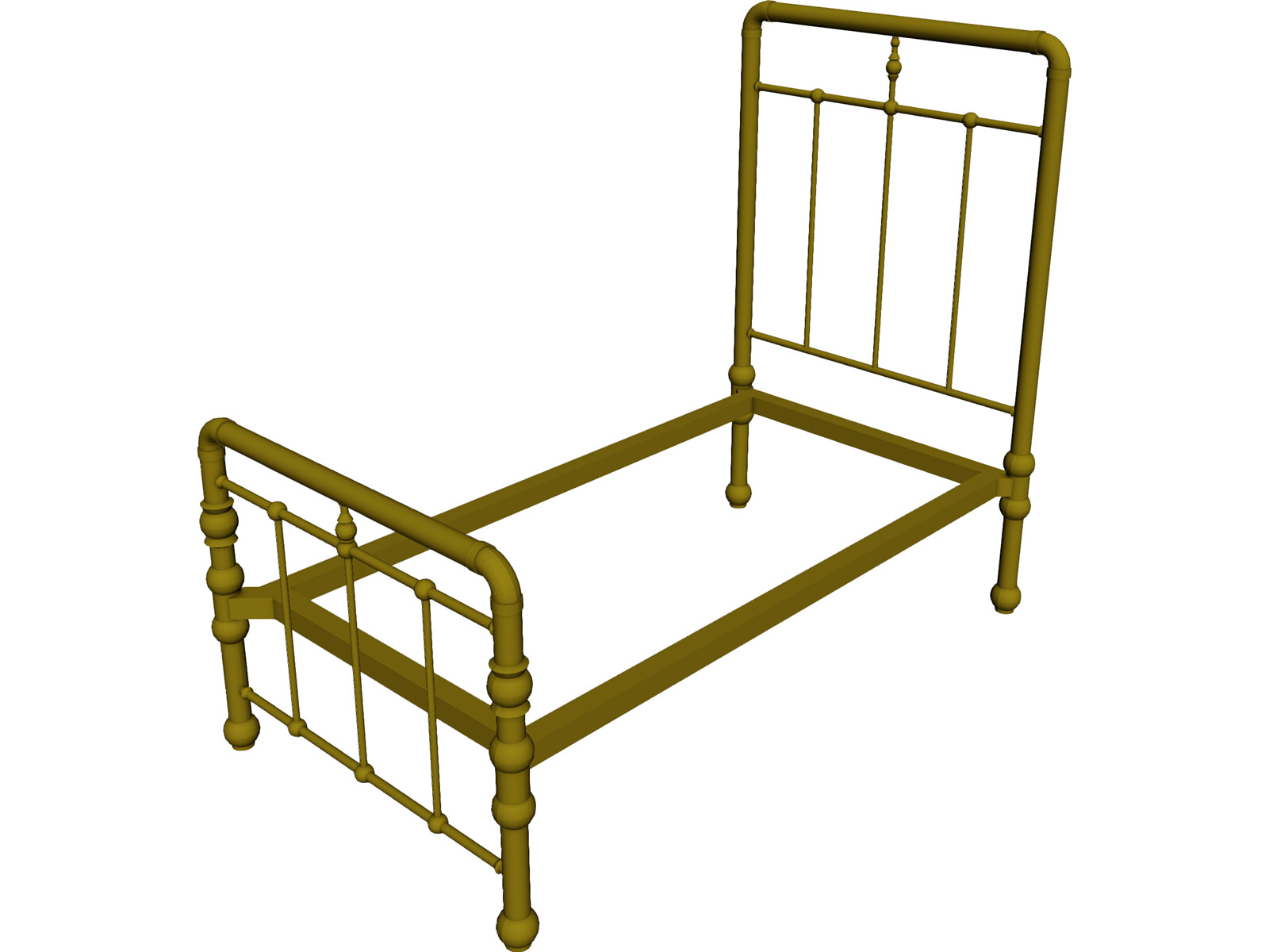 Bed Frame Antique