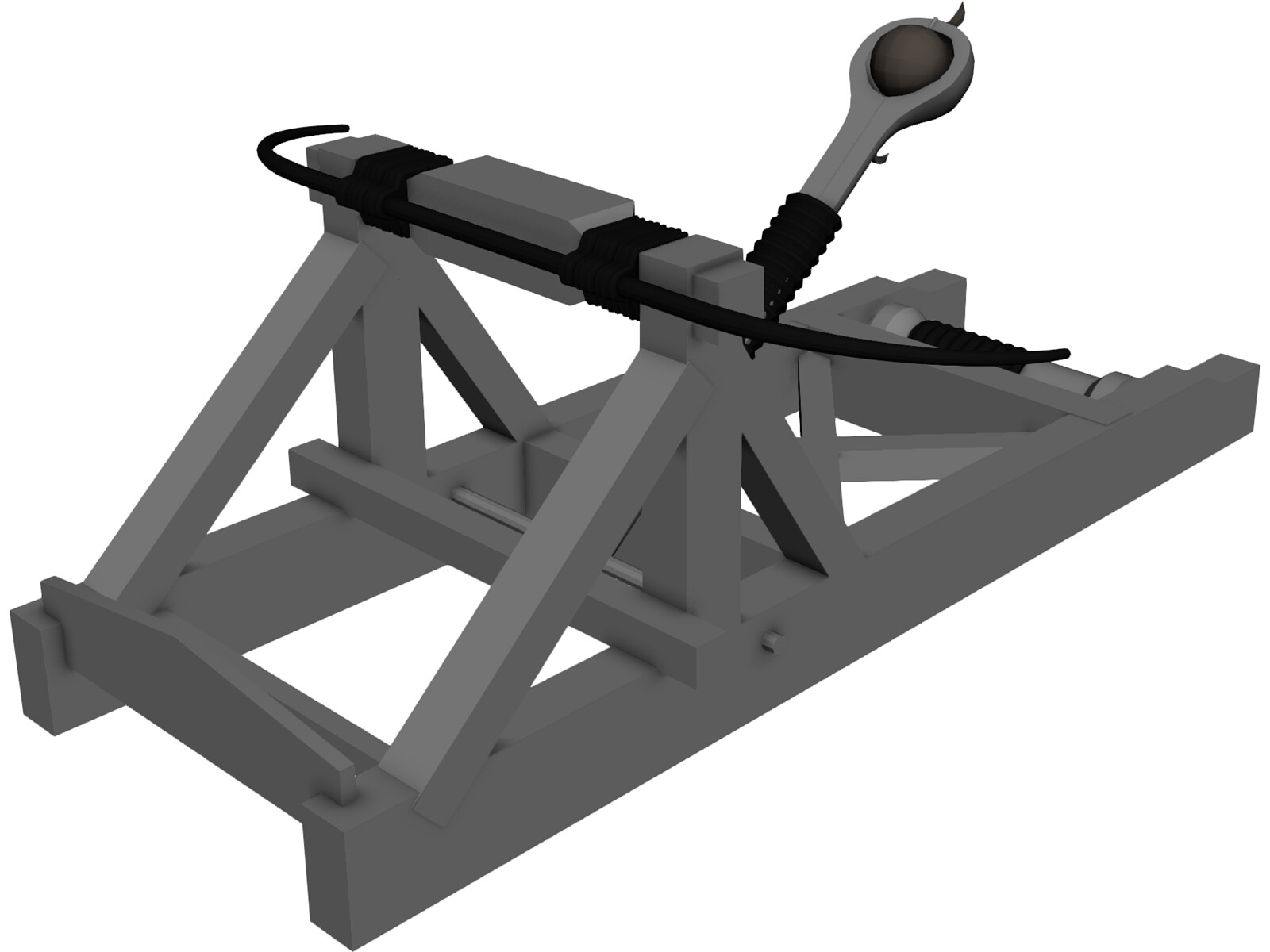 Why were catapults invented?