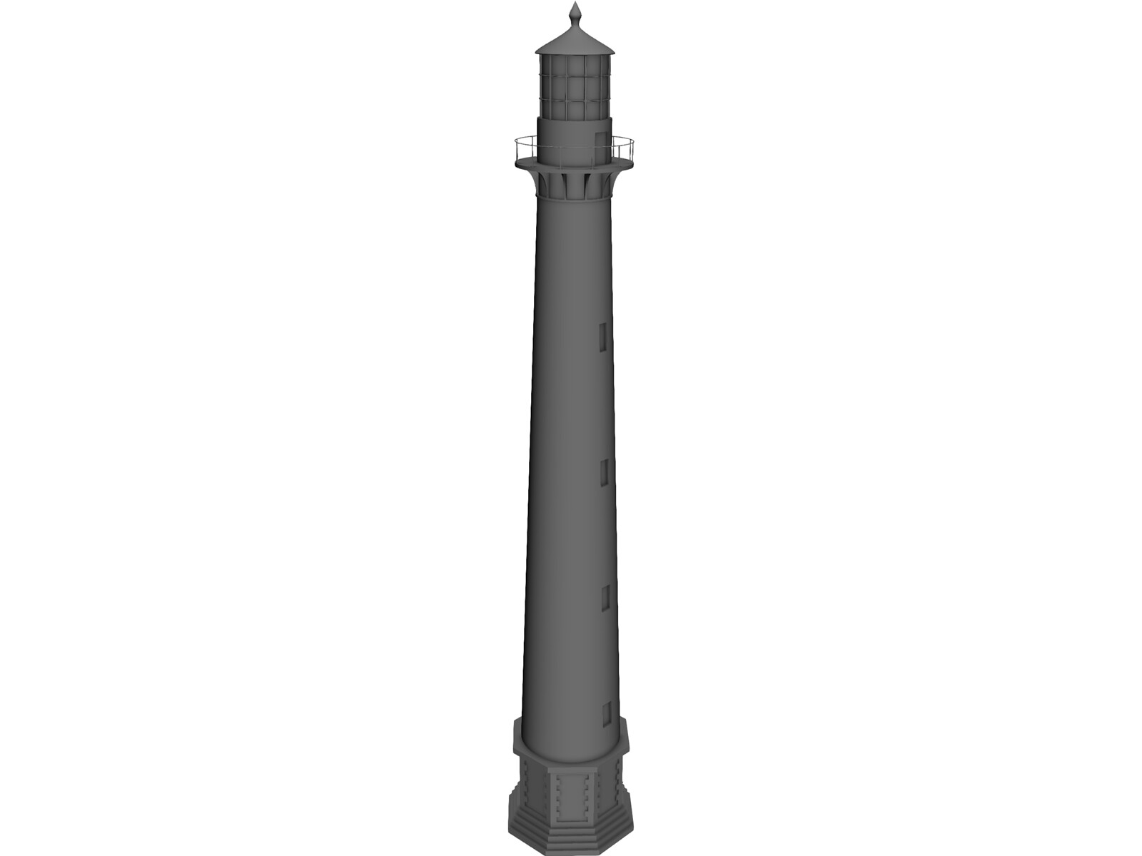 Lighthouse 3D Model