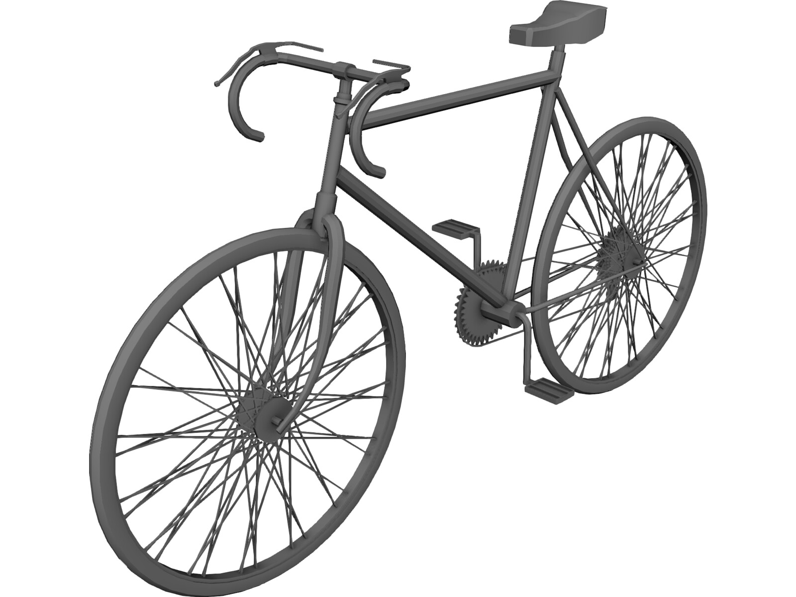 bicycle 3d model 3d cad browser