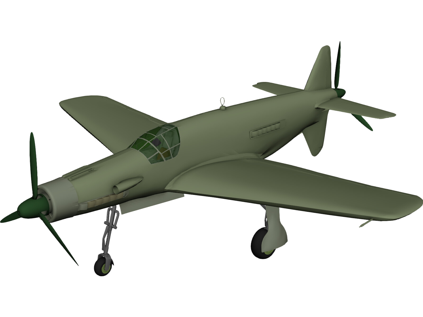 Dornier Do 335 Pfeil 3D Model