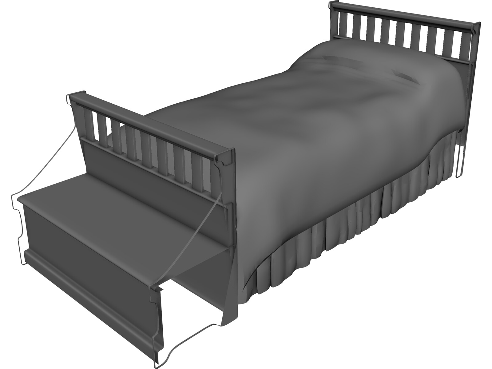 Bed Childs [+Headboard and Chest]