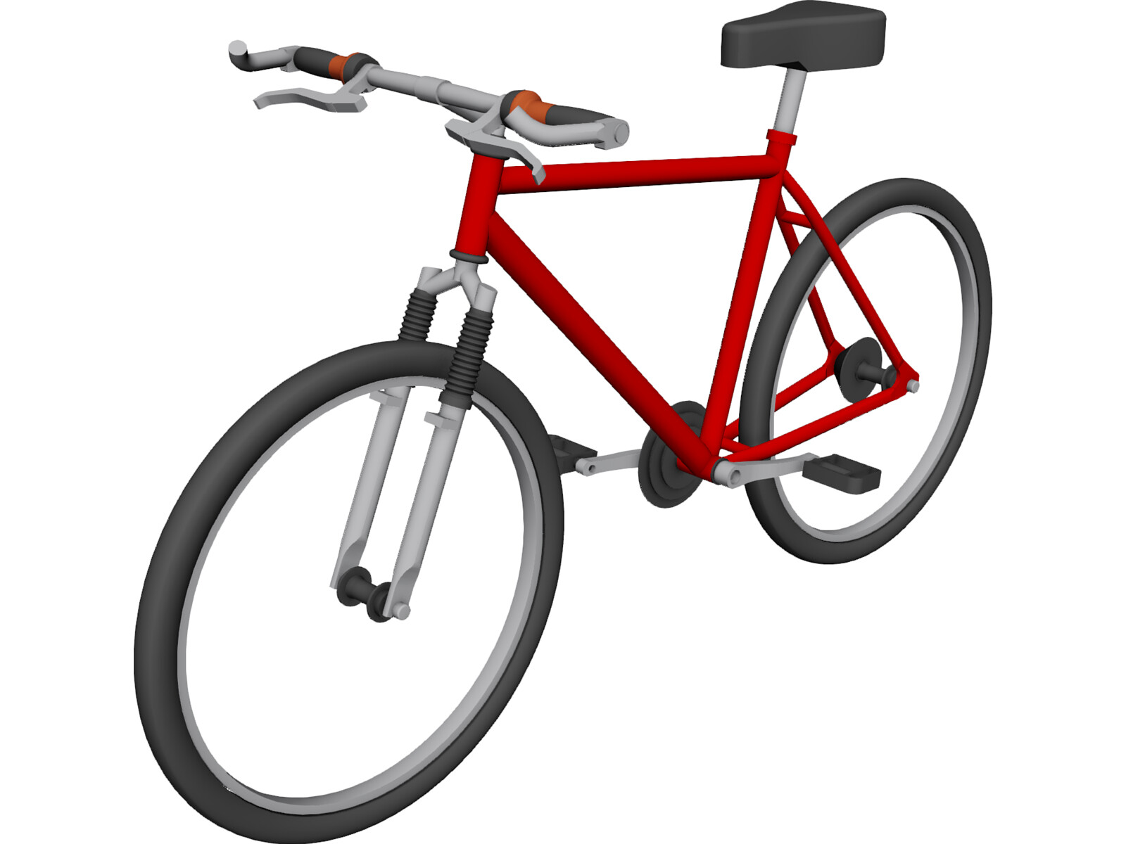 Bike Mountain Pacific 3D Model