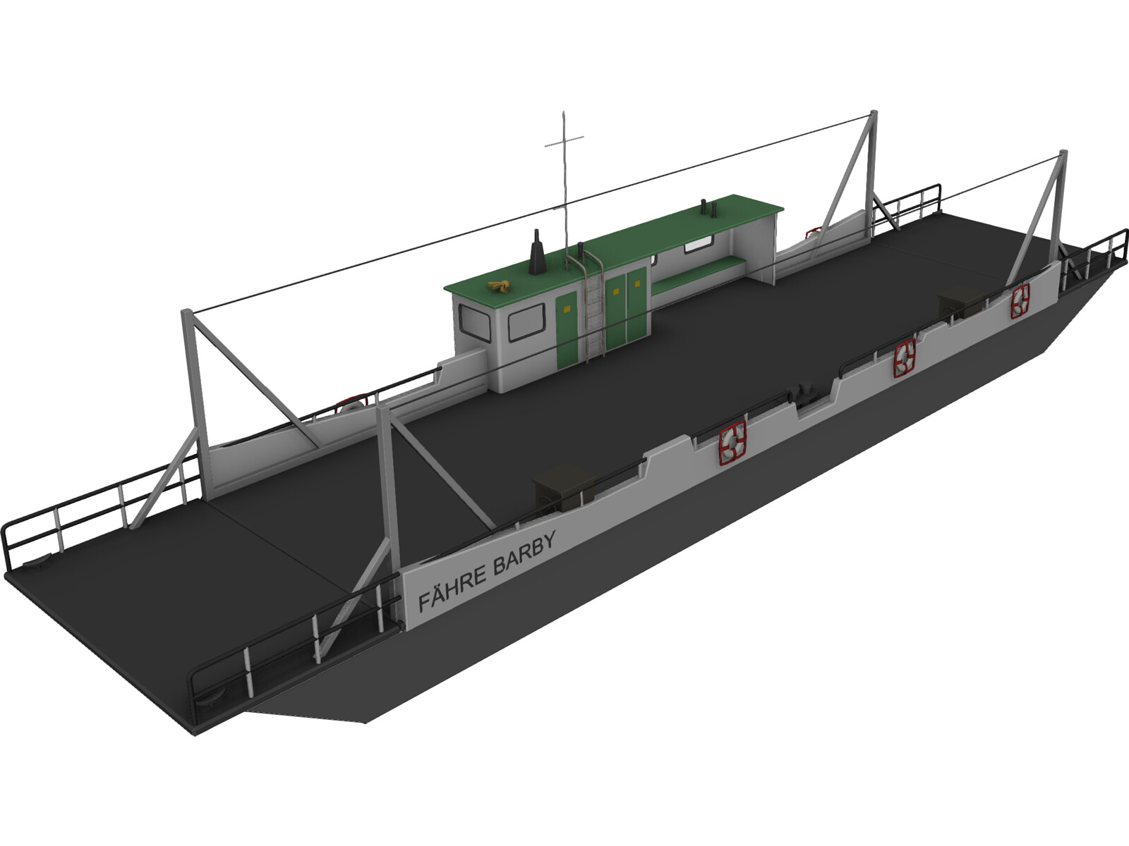 Ferry Barby 3D Model