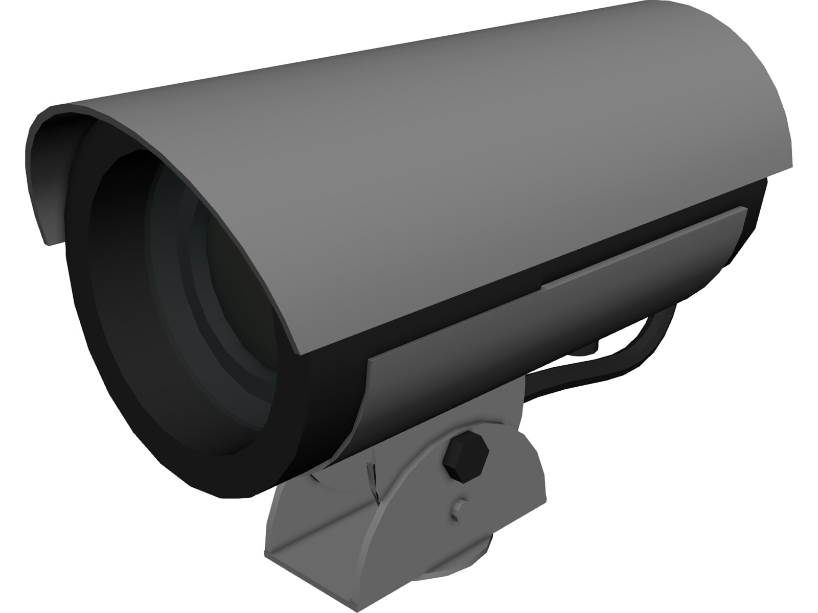 Cctv Camera 3d Model 3d Cad Browser