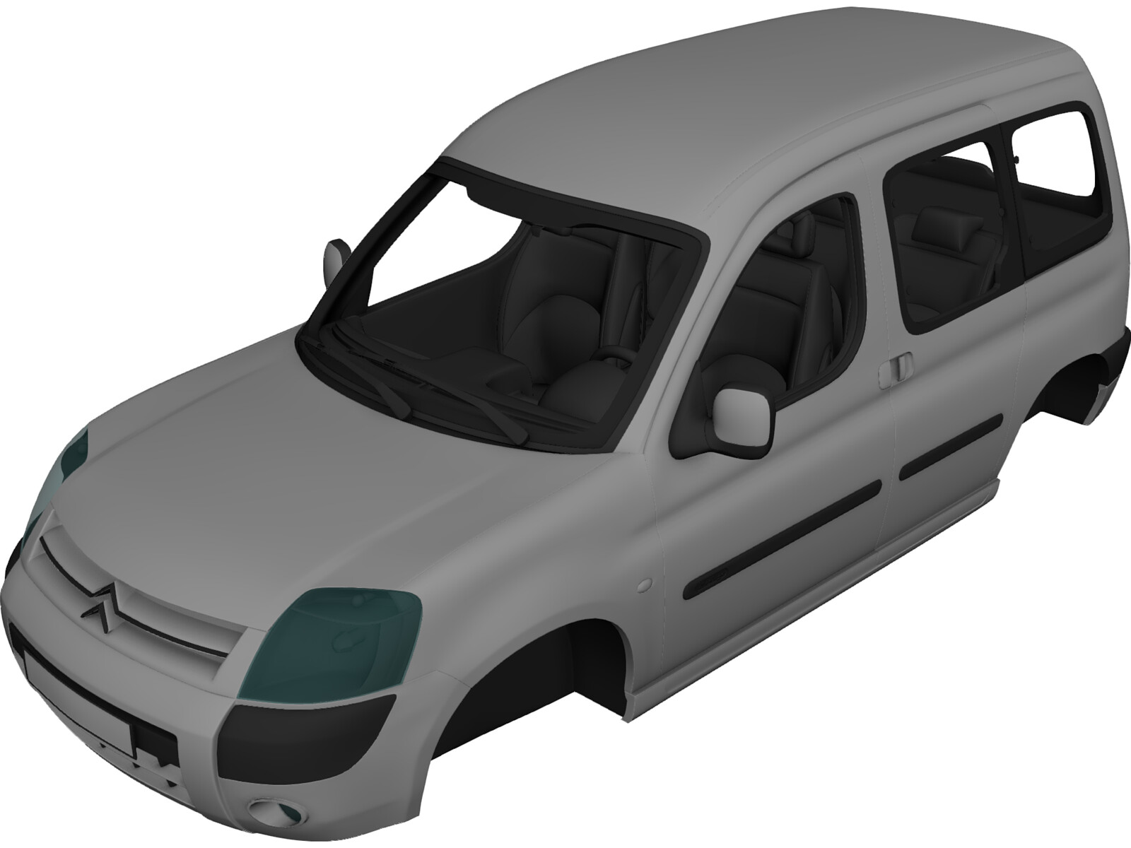 Citroen Berlingo Body 3D Model