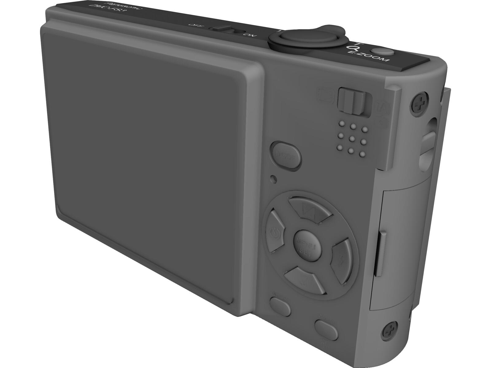 Panasonic Lumix DMC-FS3 3D Model