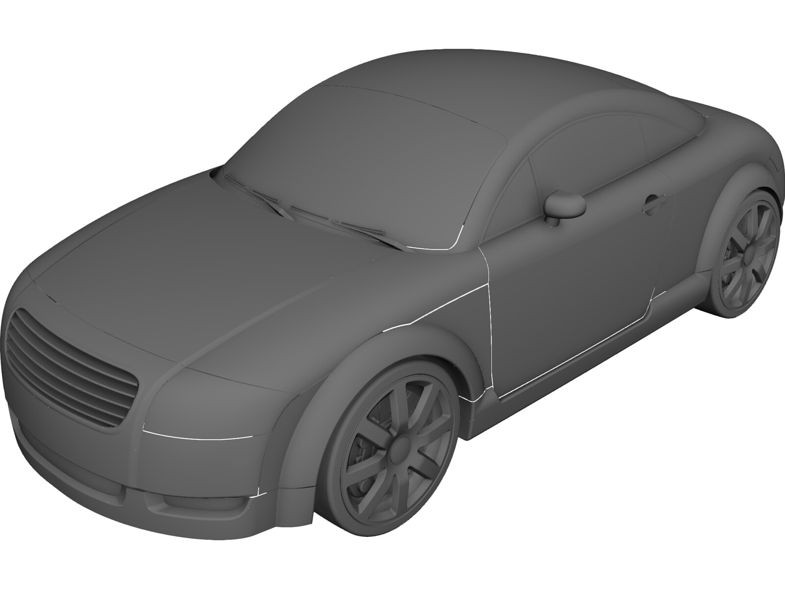 Audi Tt 3d Cad Model Download 3d Cad Browser