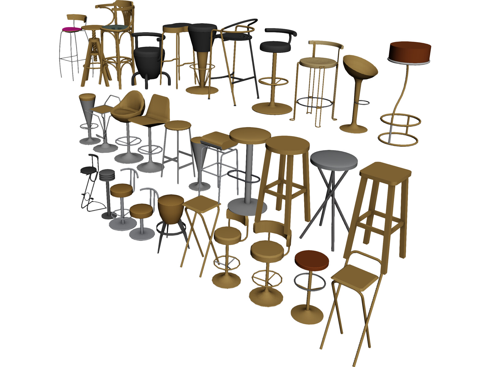 Bar Chairs Collection