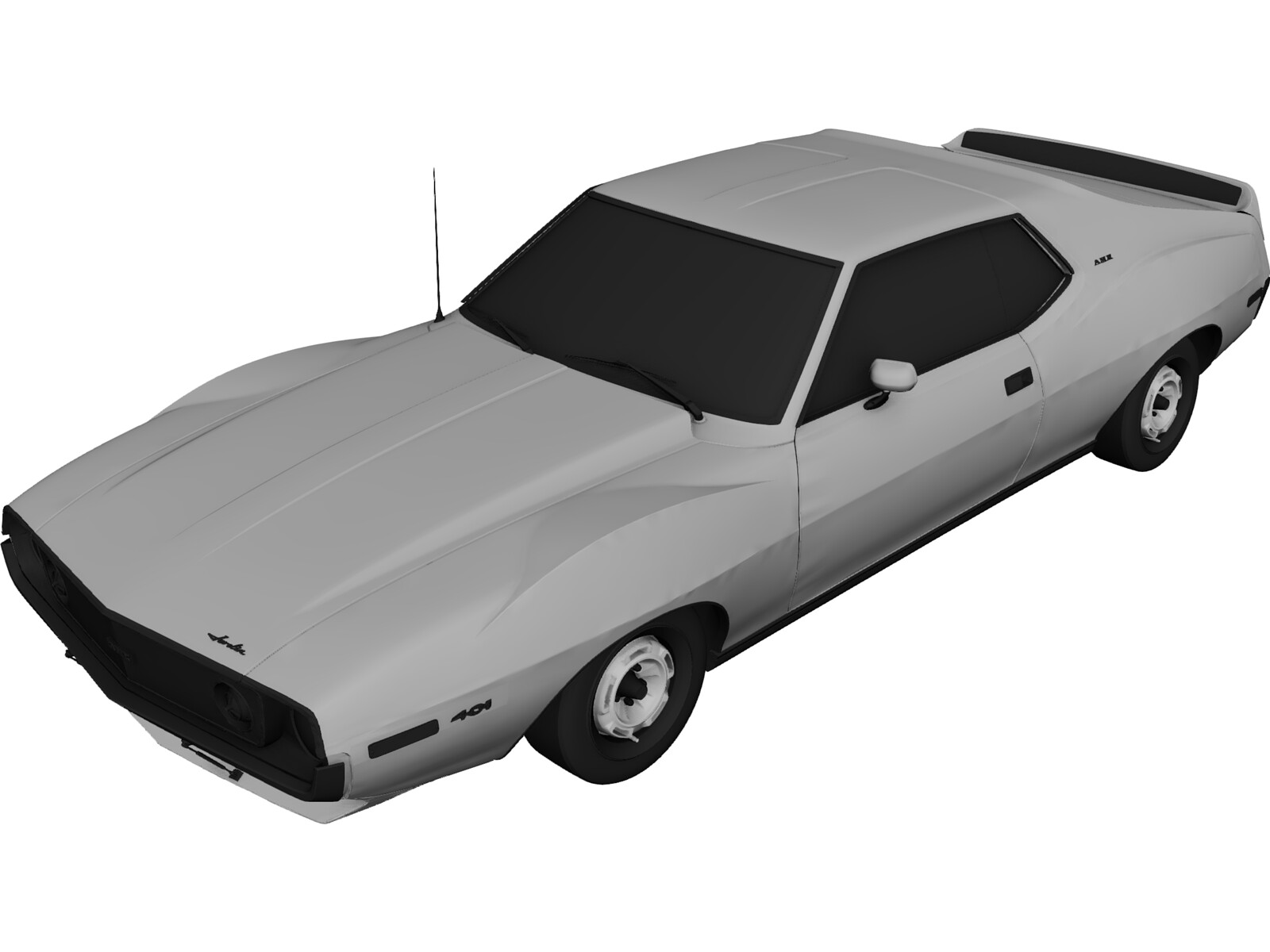 AMC Javlien AMX (1971) 3D Model