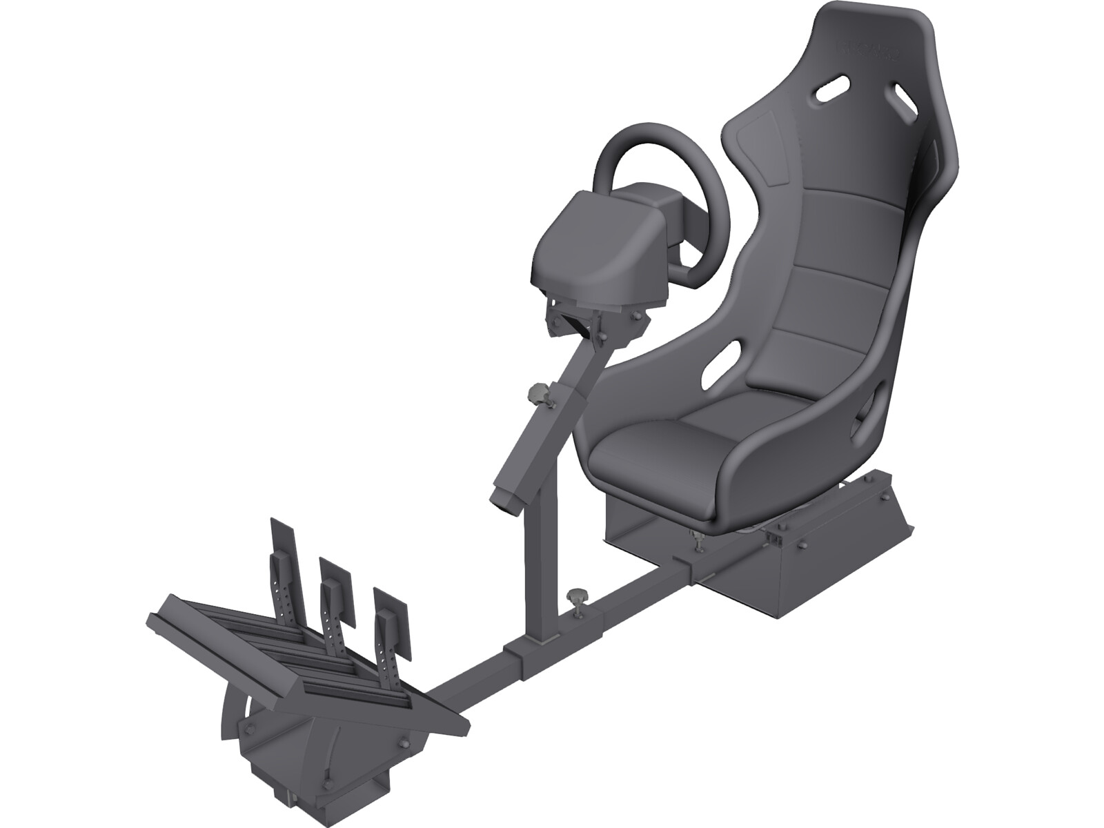 Video Game Race Car Seat