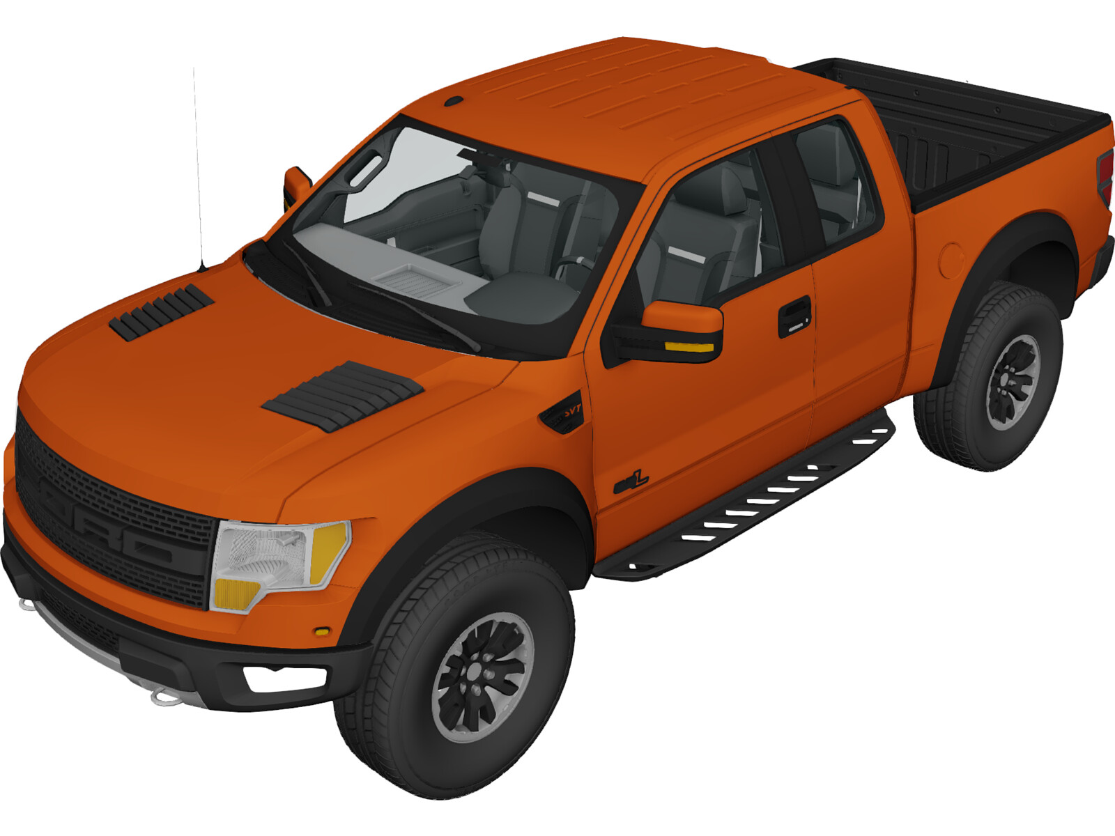 ford f 150 svt raptor 2011 3d model 3d cad browser