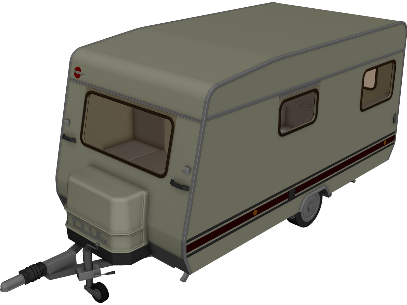 Camper 3d Cad Model 3d Cad Browser