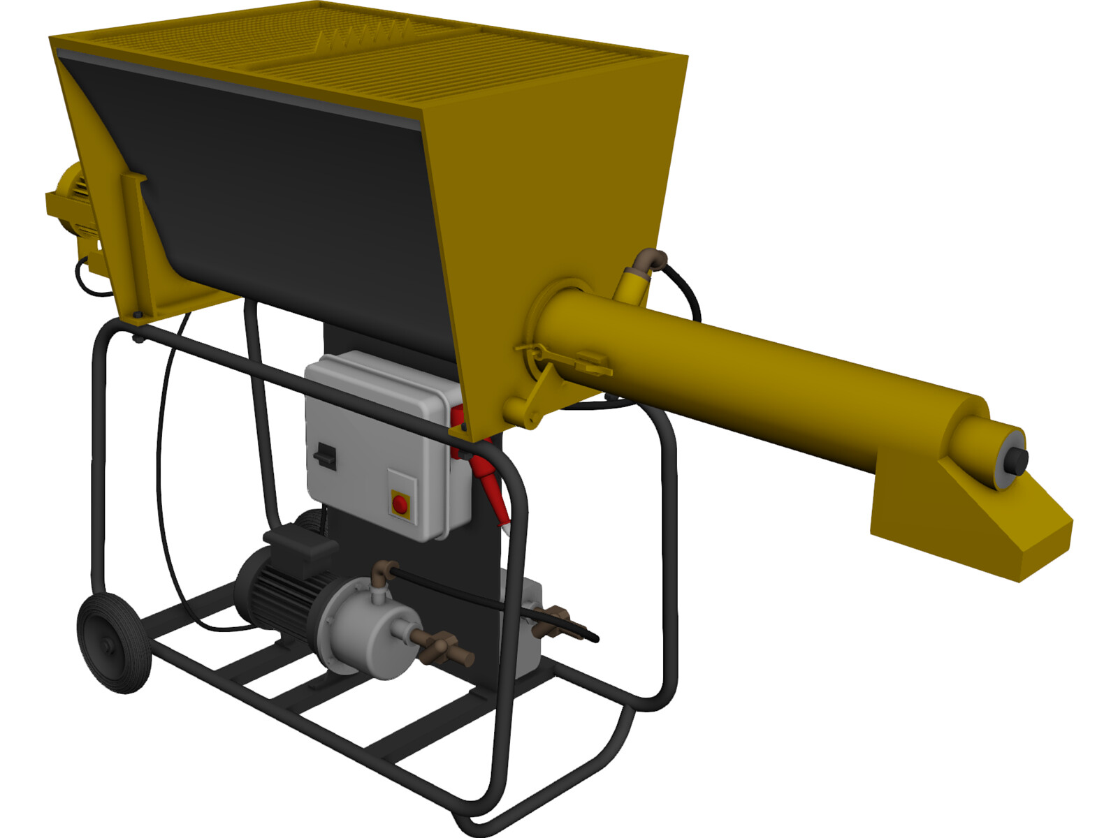 Turbomix Constructions Equipment 3D Model