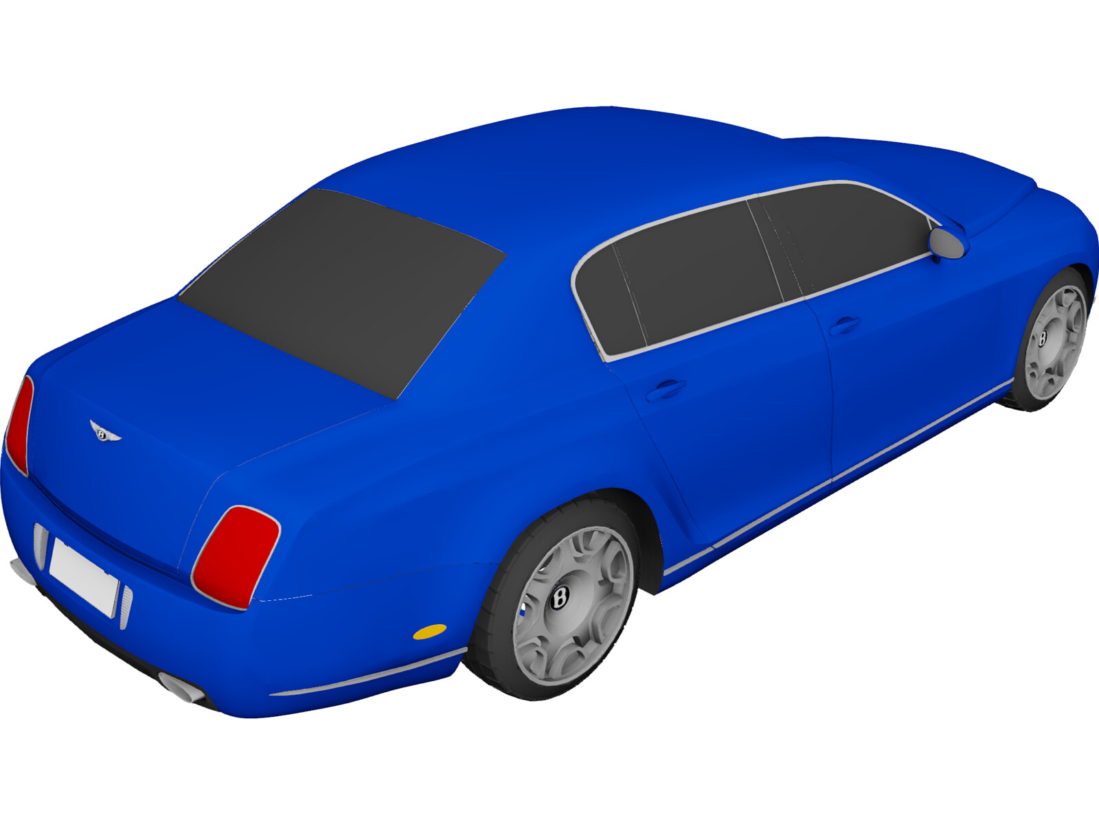Bentley Continental Flying Spur 3D Model