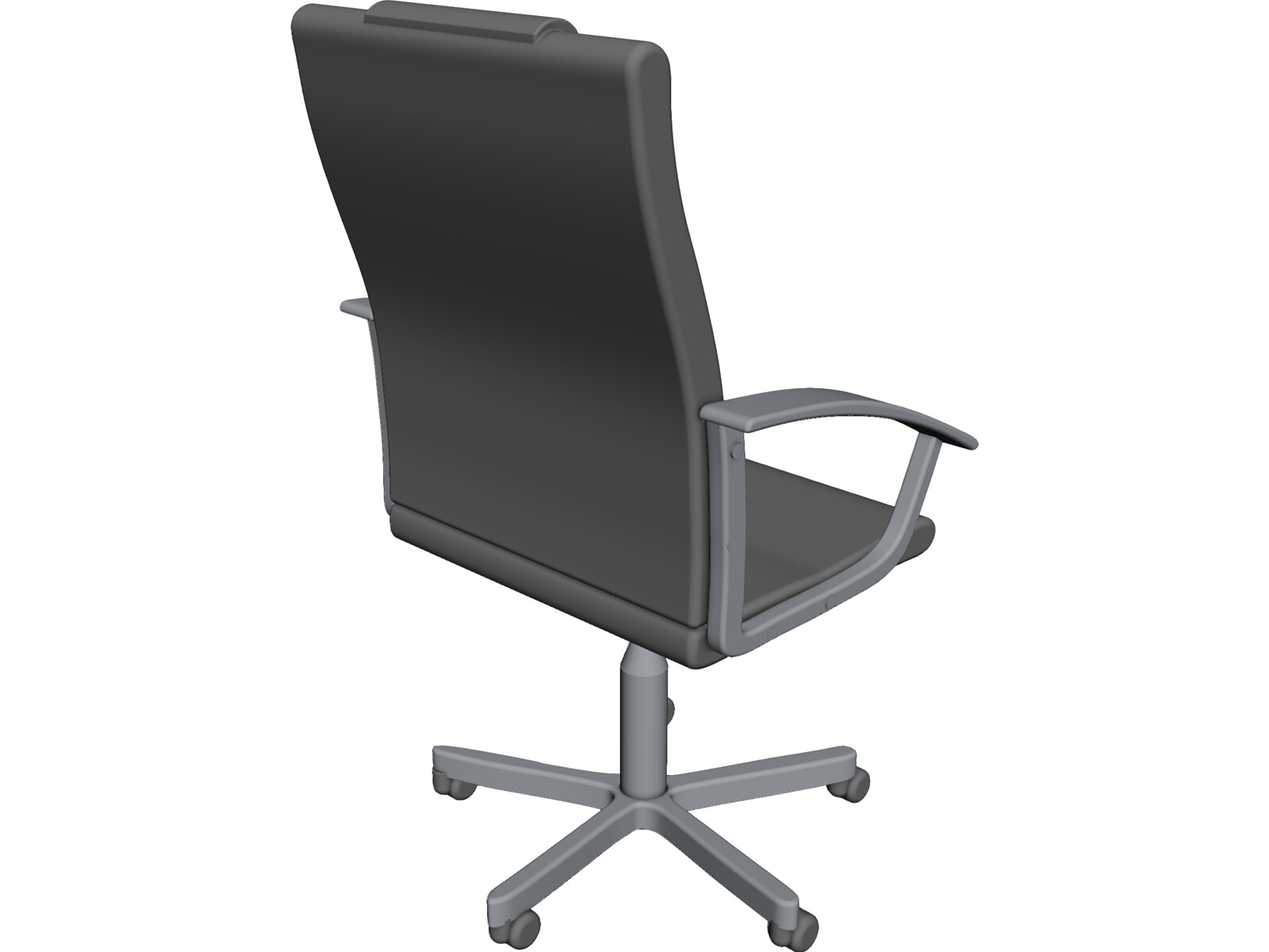 leather office chair 3d cad model 3d cad browser