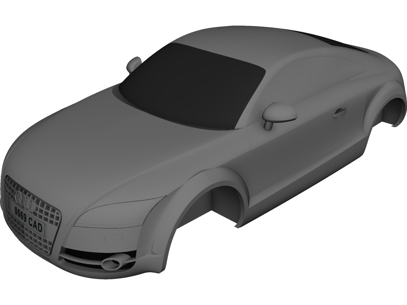Audi Tt Body 3d Cad Model Download 3d Cad Browser