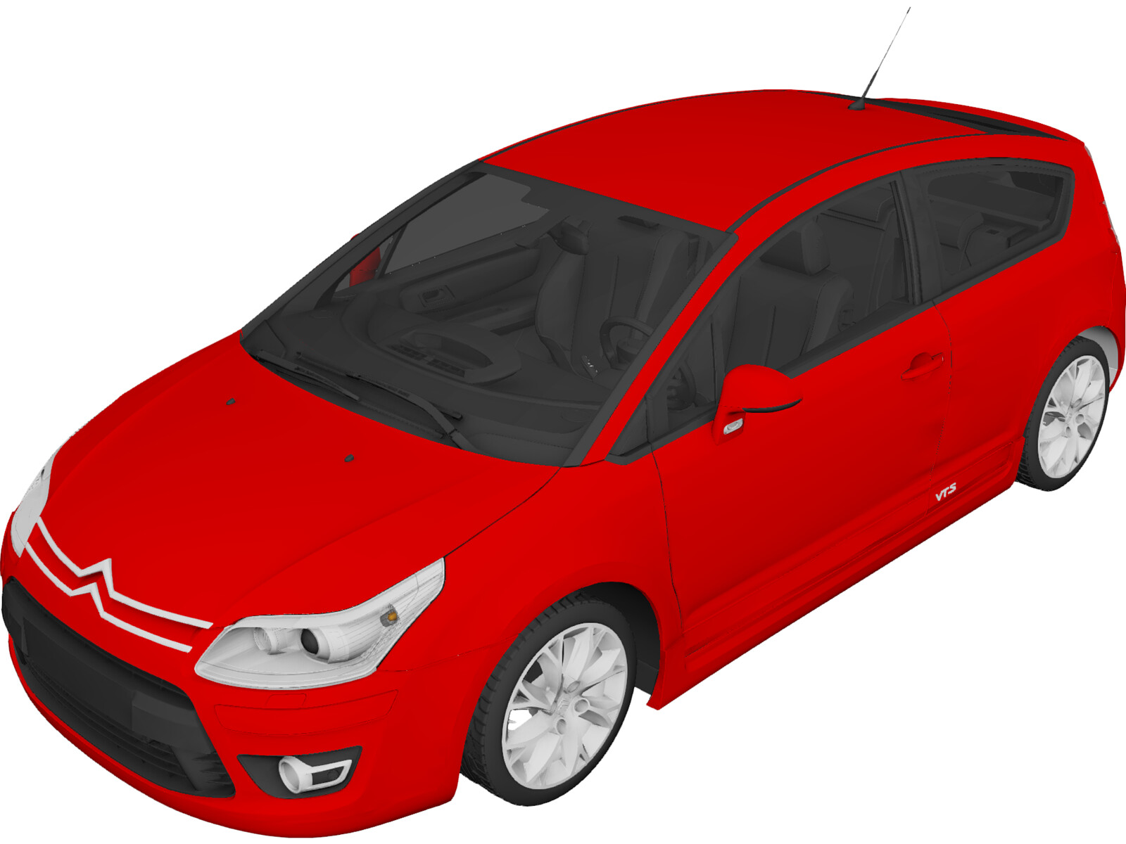 Citroen C4 VTS Coupe (2009)