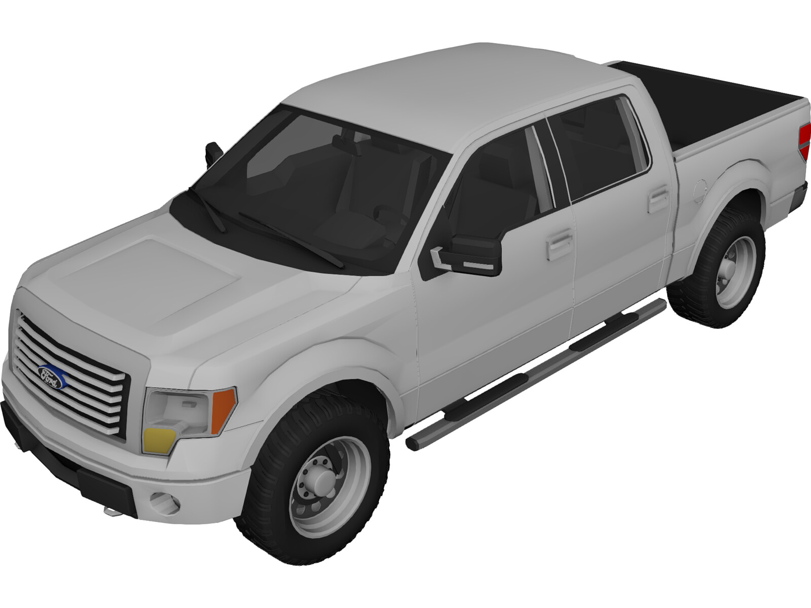 Ford F 150 2010 3d Model 3d Cad Browser