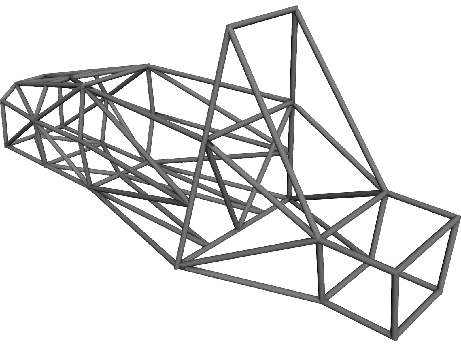 FSAE Frame 3D CAD Model - 3D CAD Browser