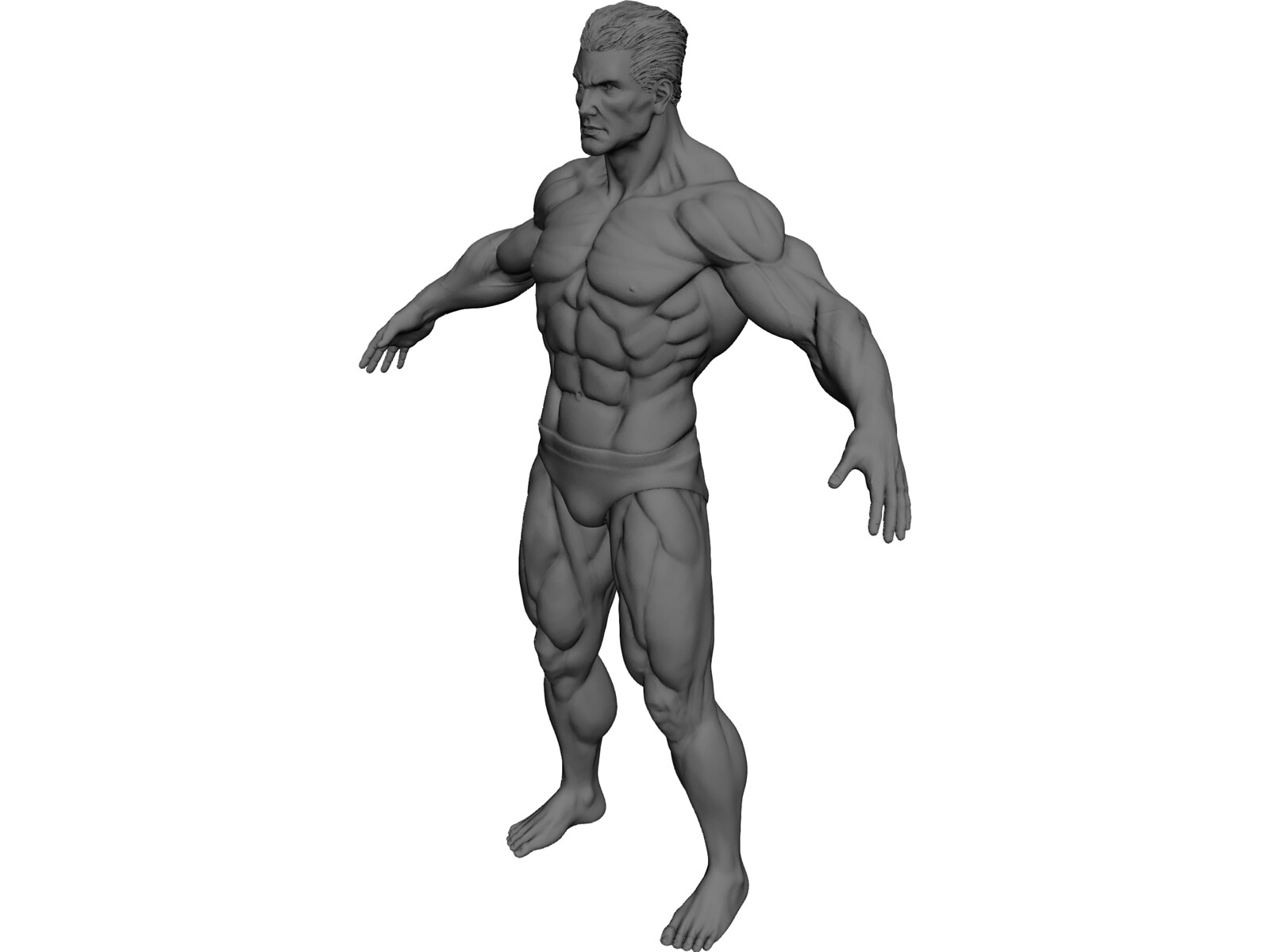 super human 3d model download - 3d cad browser, Muscles