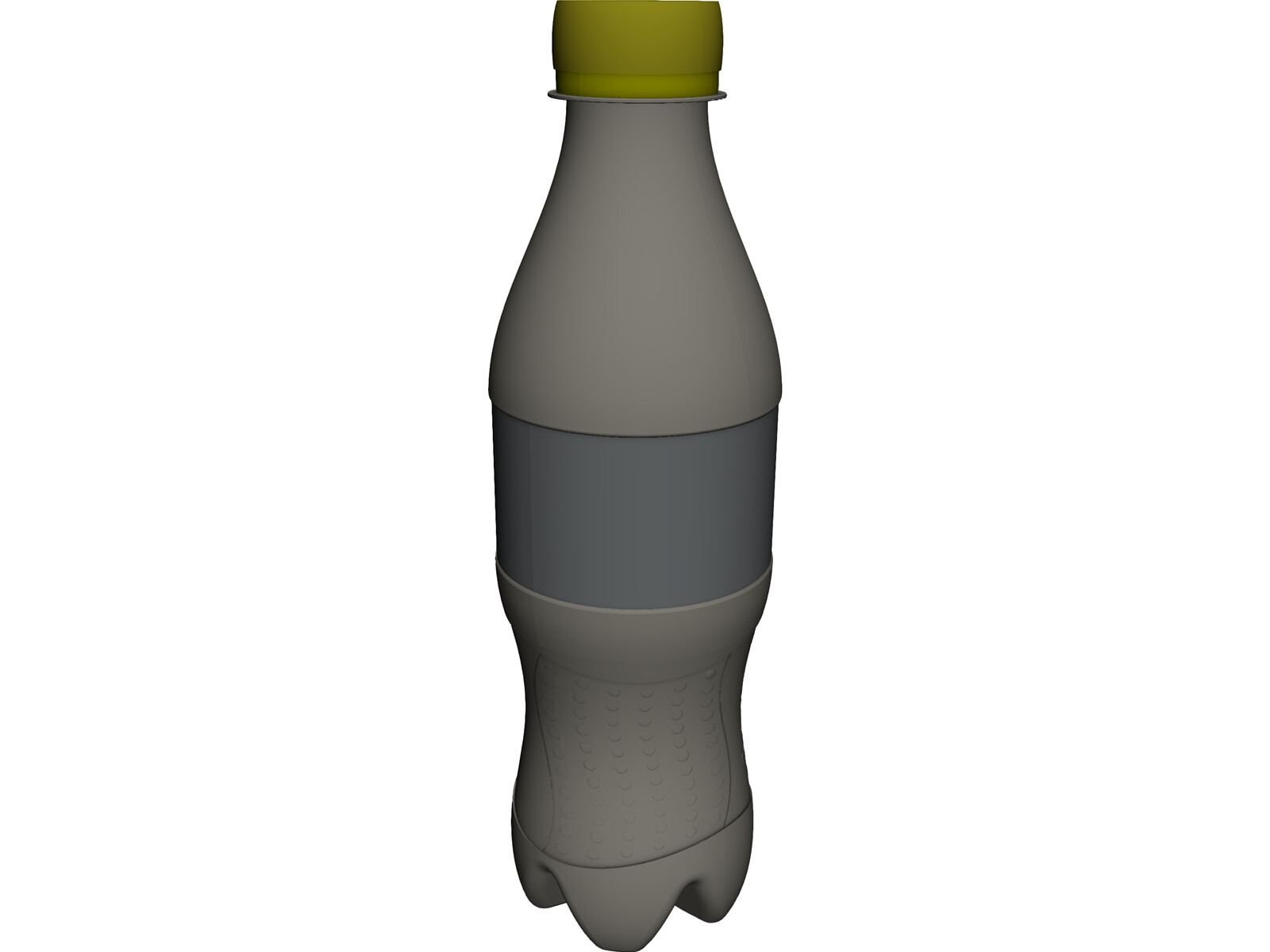 Cola Bottle 3D CAD Model