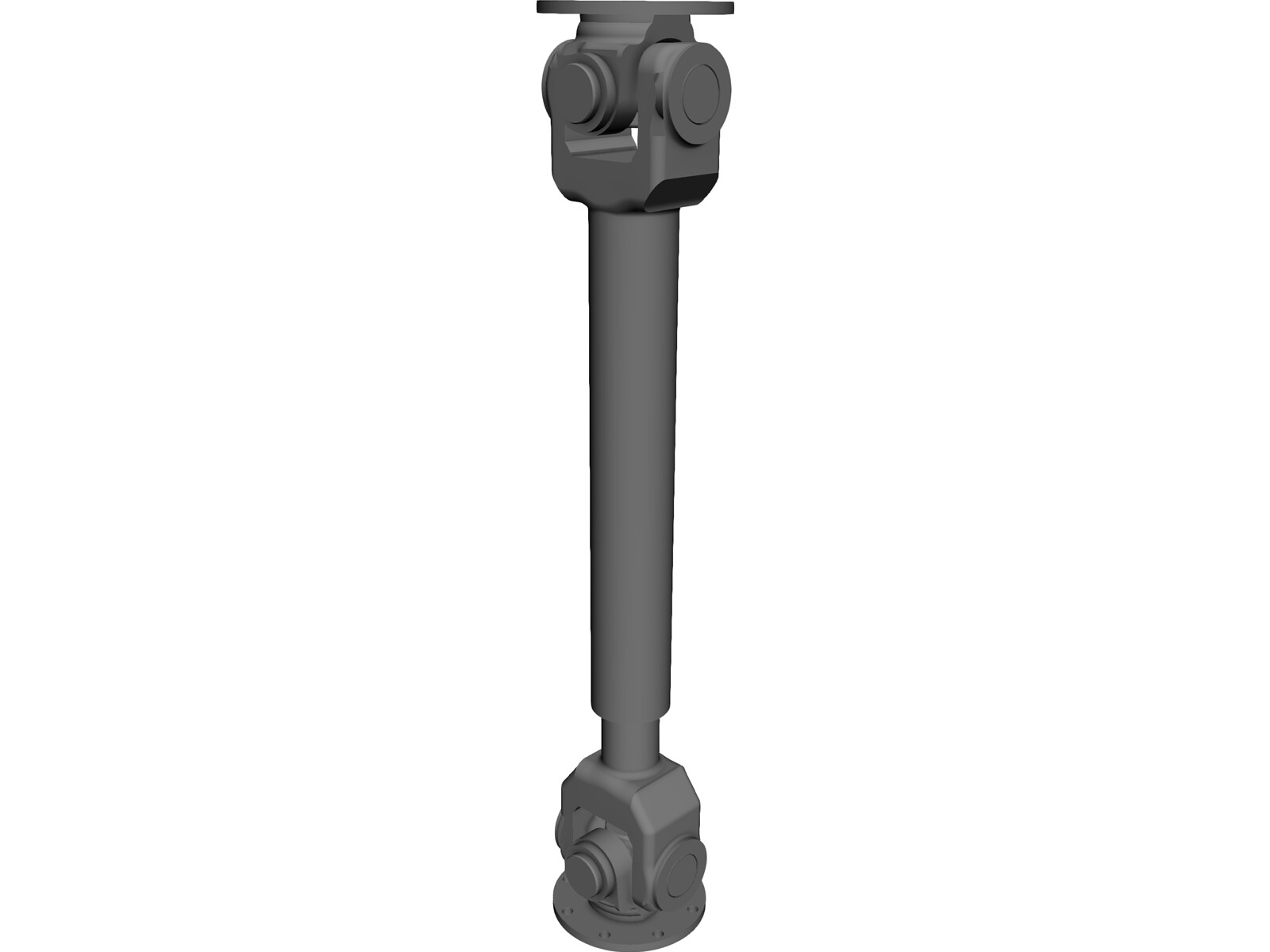 Cardan Shaft 3D CAD Model