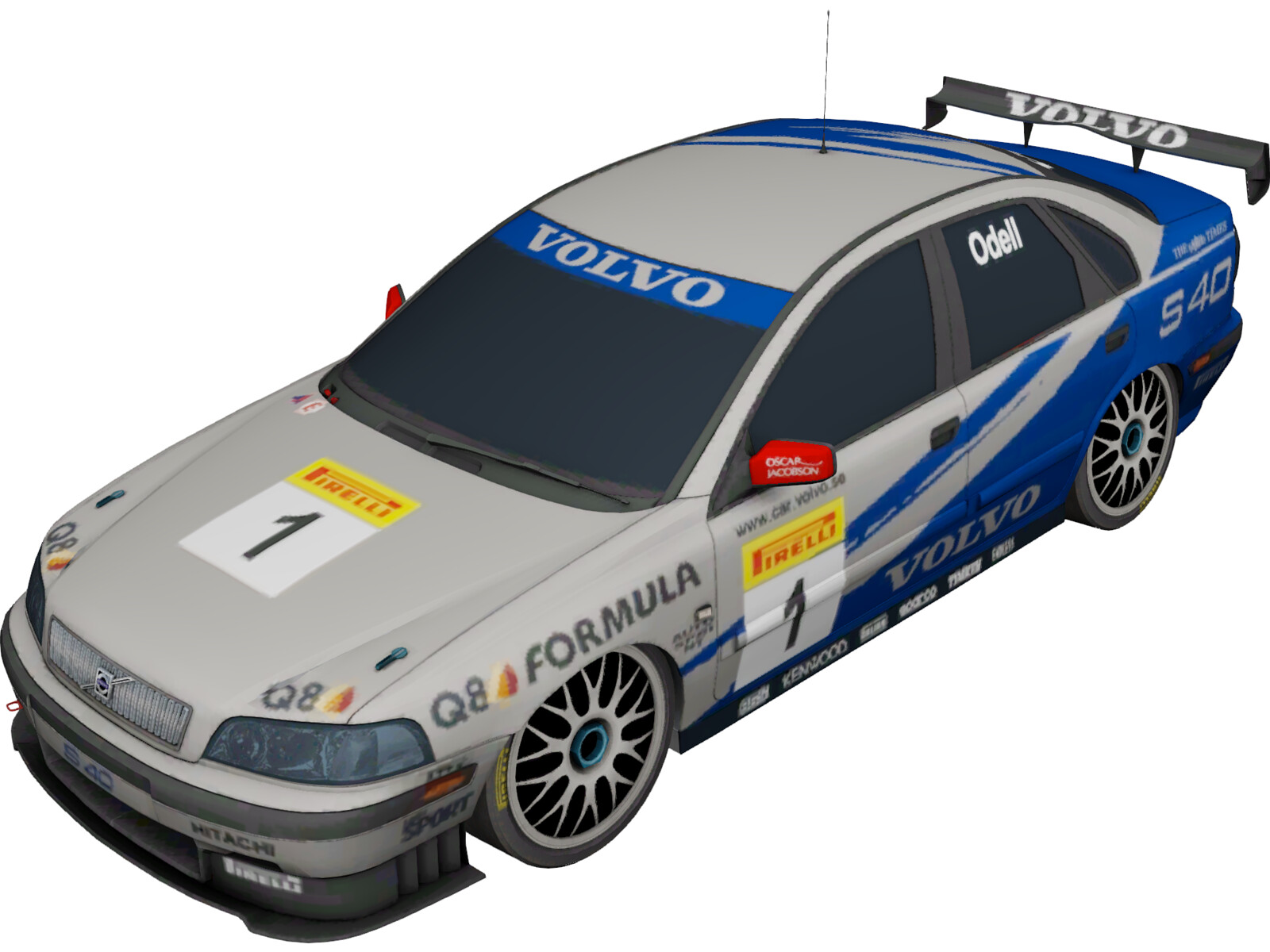 Volvo S40 Rally (2001)