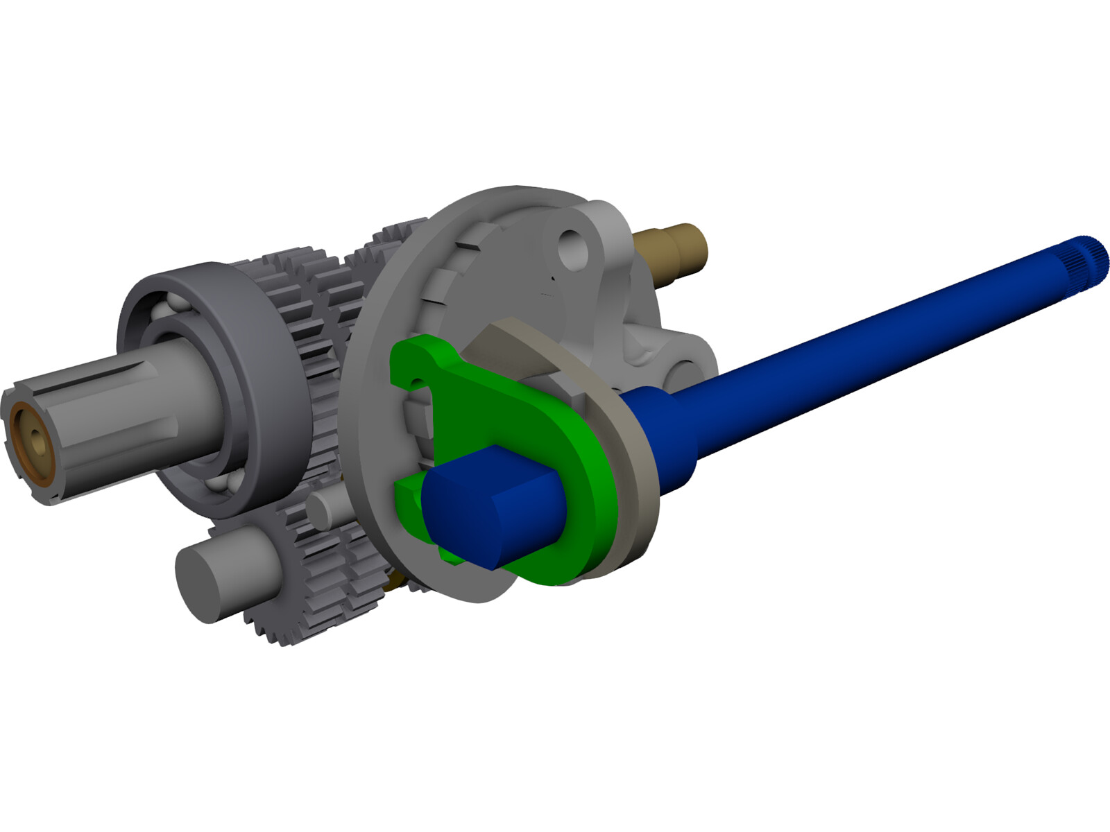 Gear box 3d cad model download 3d cad browser Cad models