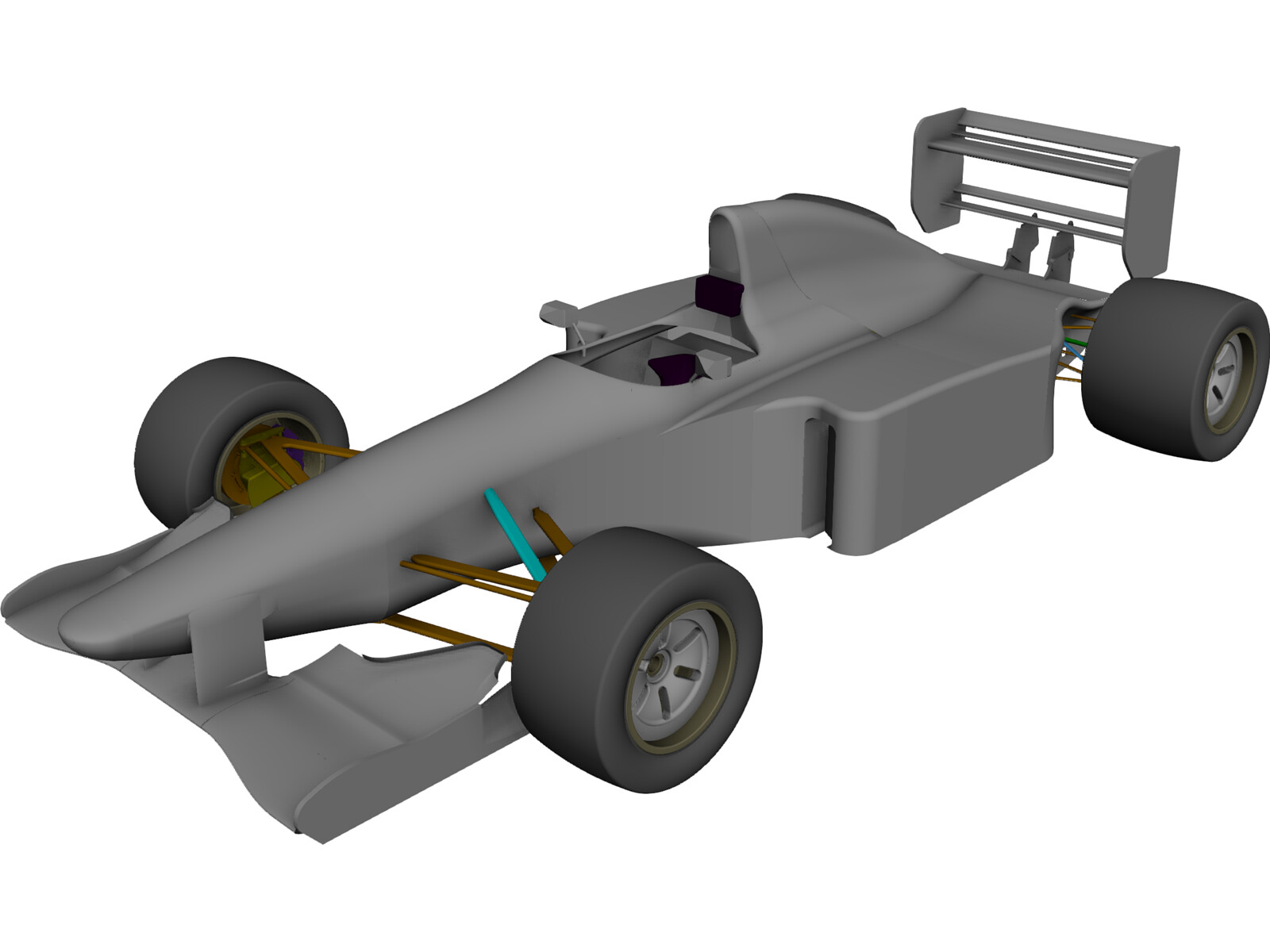 Sauber F1 Car 3d Cad Model 3d Cad Browser