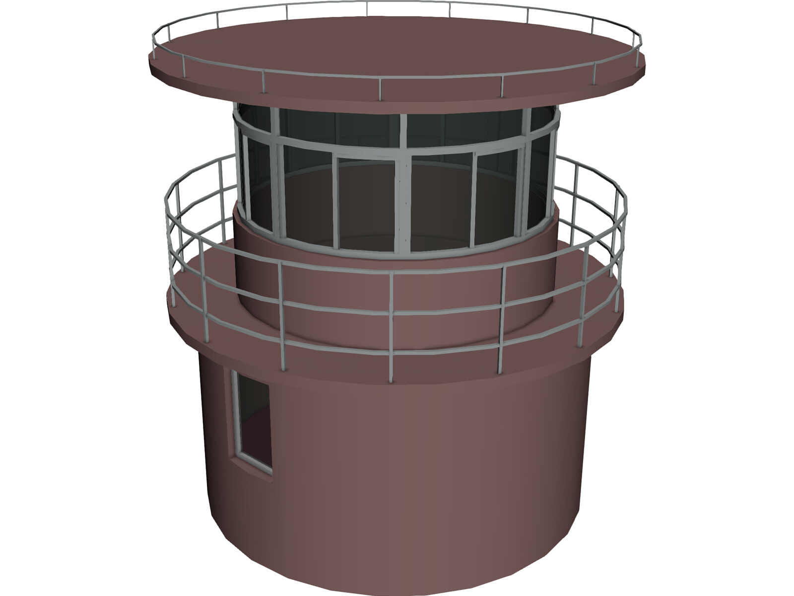 Lighthouse Small 3D Model
