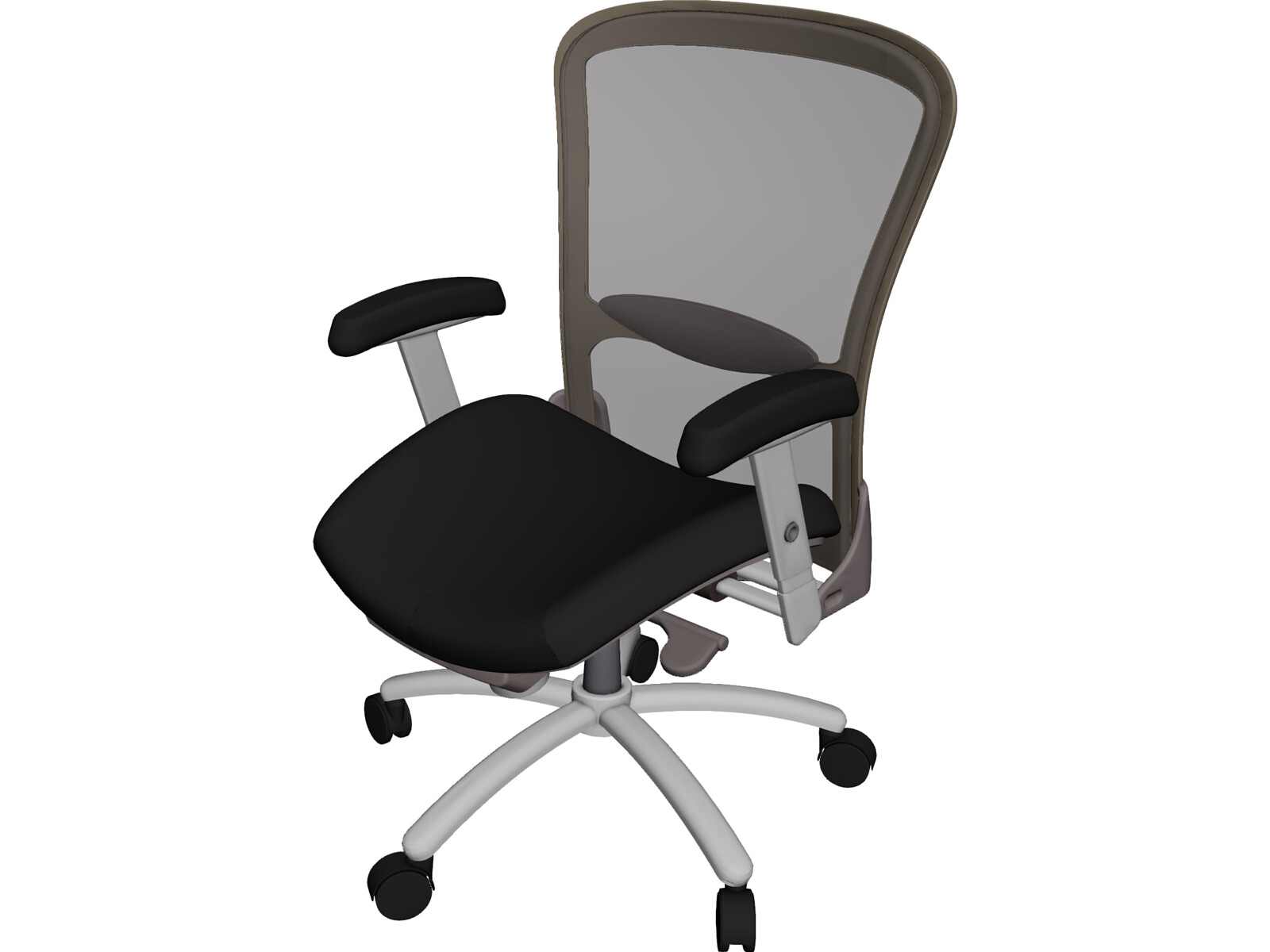 Executive office chair electra 3d model 3d cad browser for Chair 3d model maya