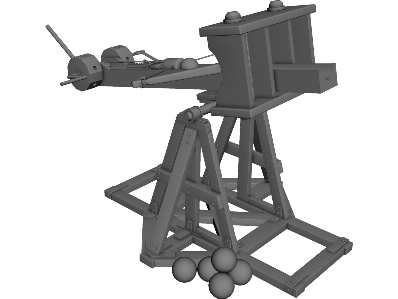 ... B1 as well Medieval Catapult Blueprints. on model catapult plans free