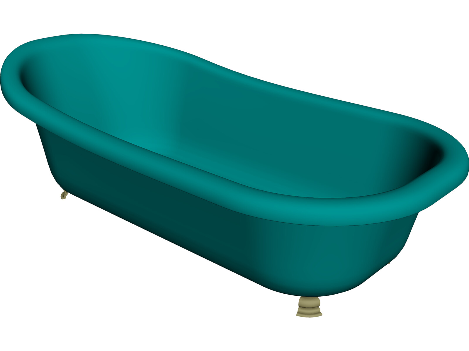Bathtub Free Standing 3D Model