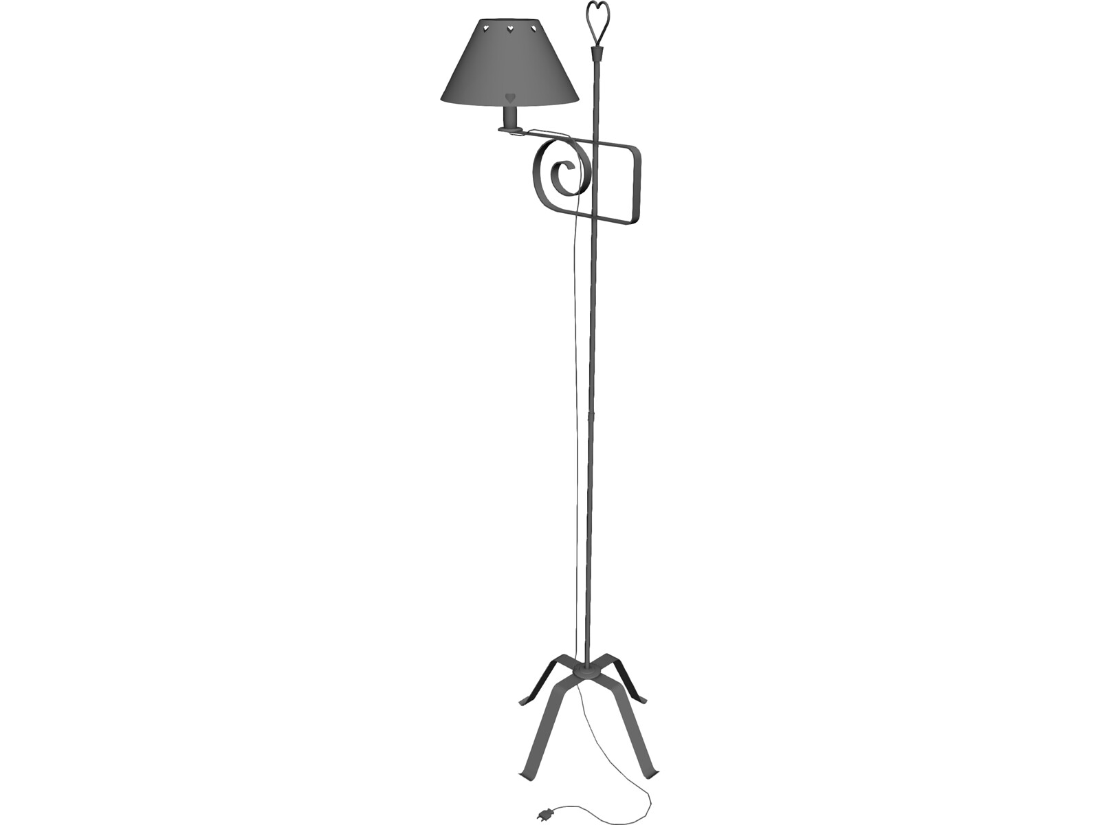 Lamp Country 3D Model