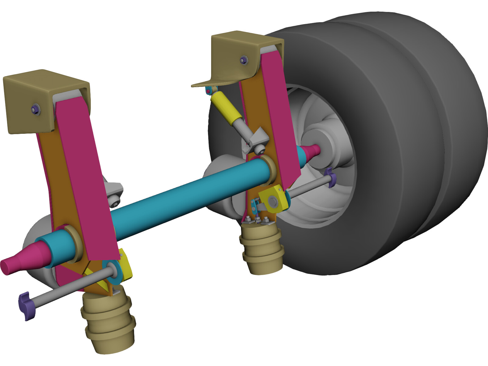 Vehicles Parts Suspension Steering 3d Cad Browser