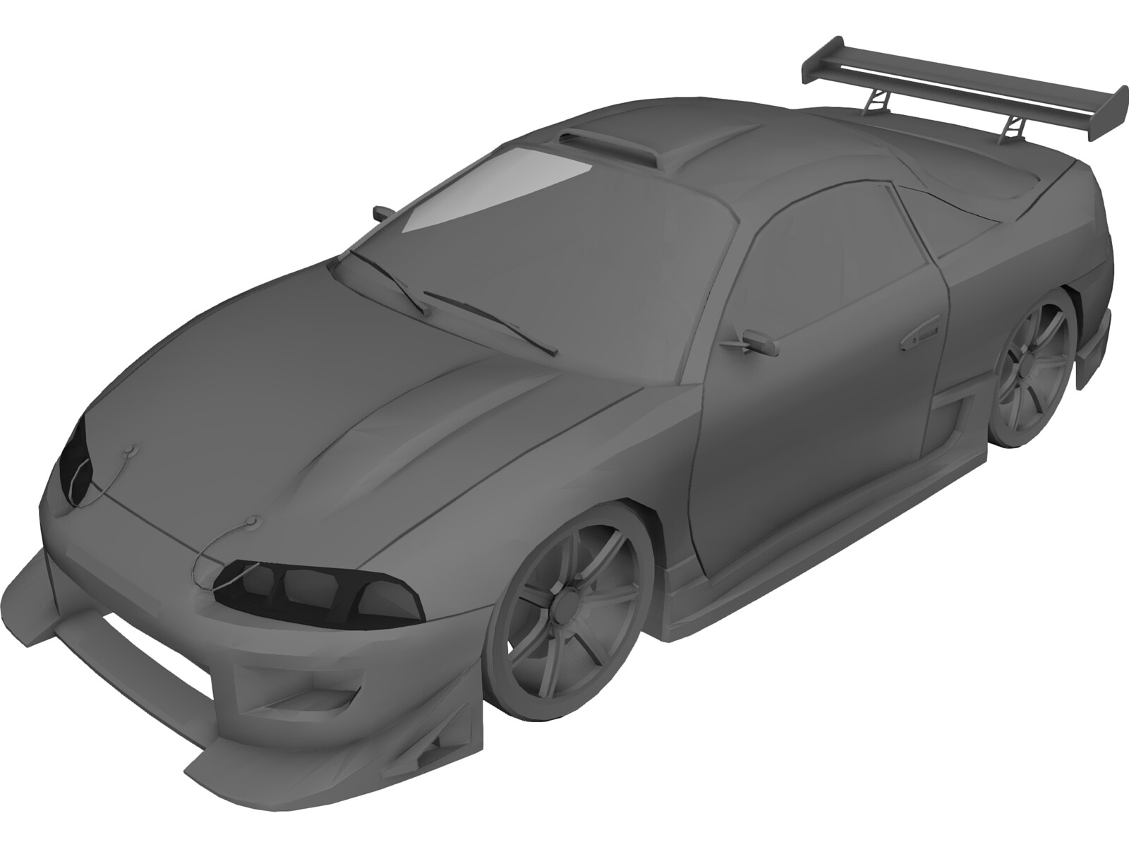 Mitsubishi Eclipse [Tuned] 3D Model