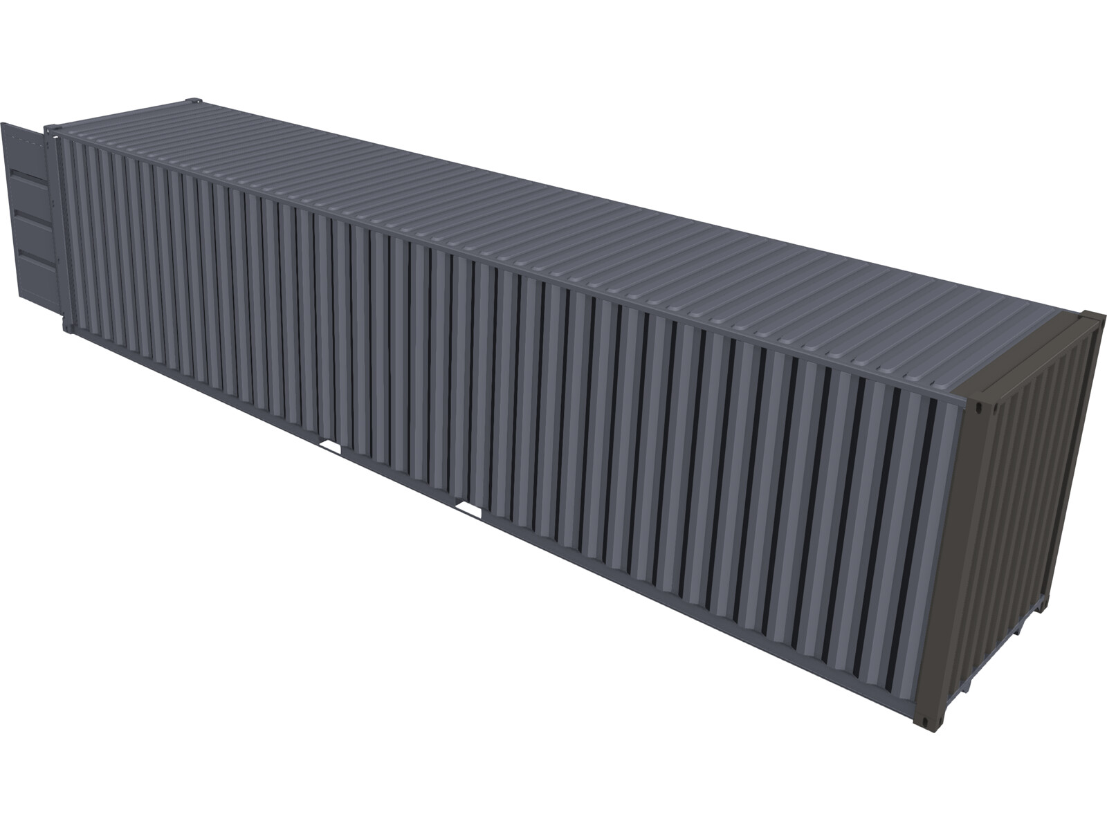 Container 40ft 3D Model