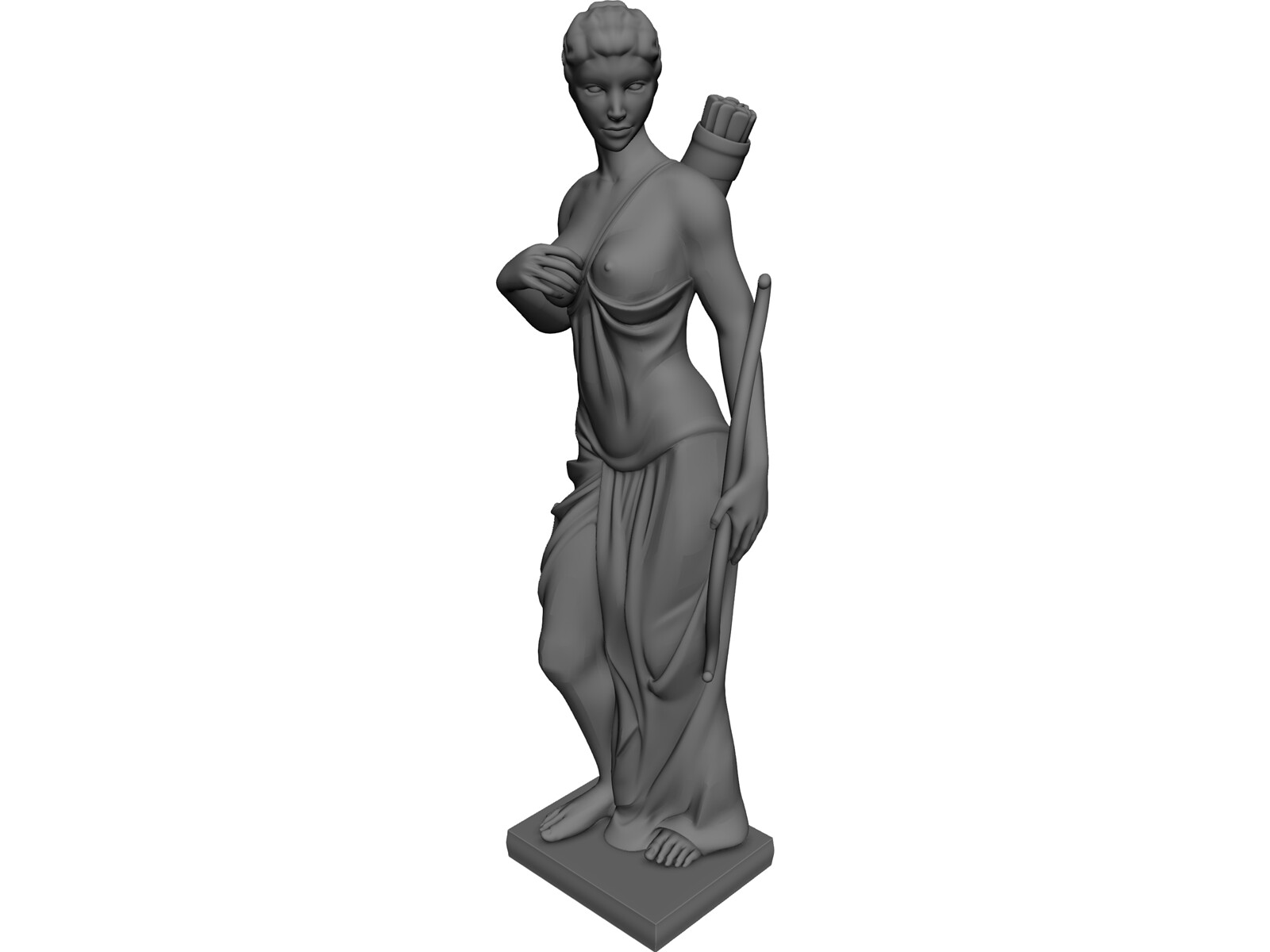 Artemida 3D Model