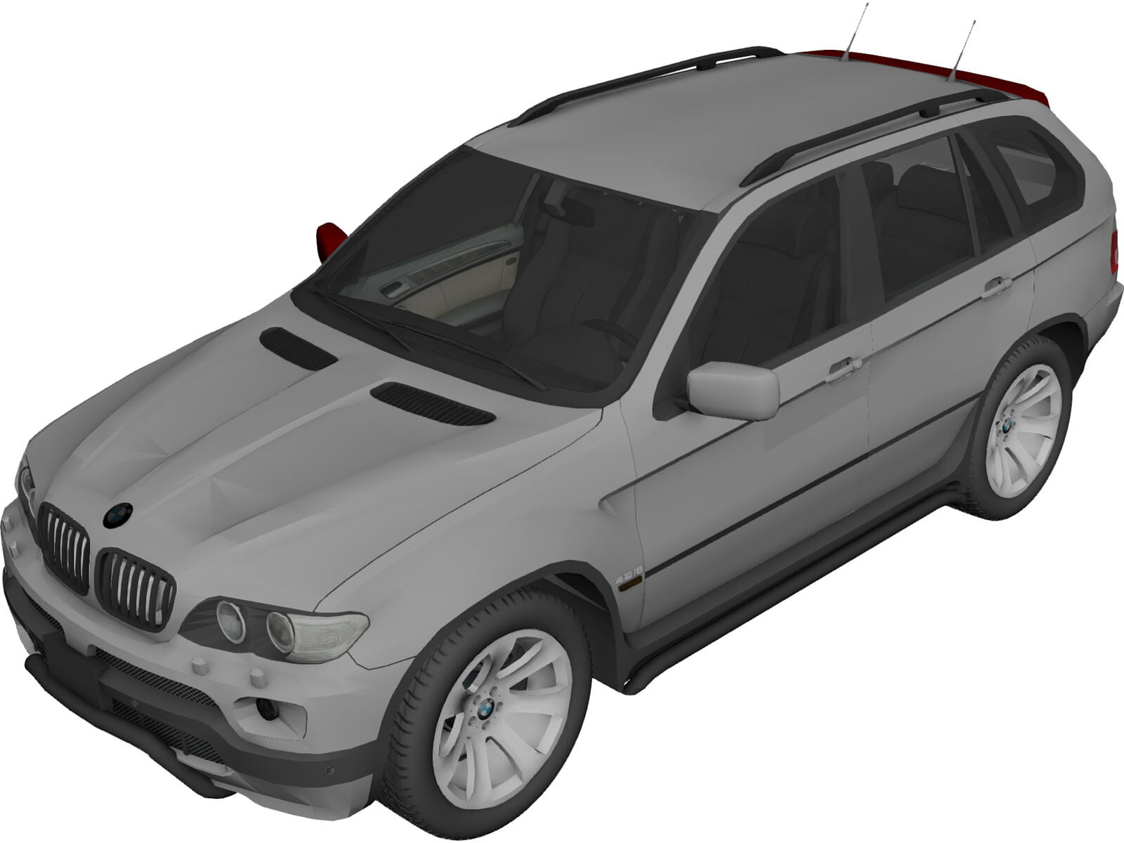 bmw x5 e53 4 8 is 2006 3d model 3d cad browser. Black Bedroom Furniture Sets. Home Design Ideas