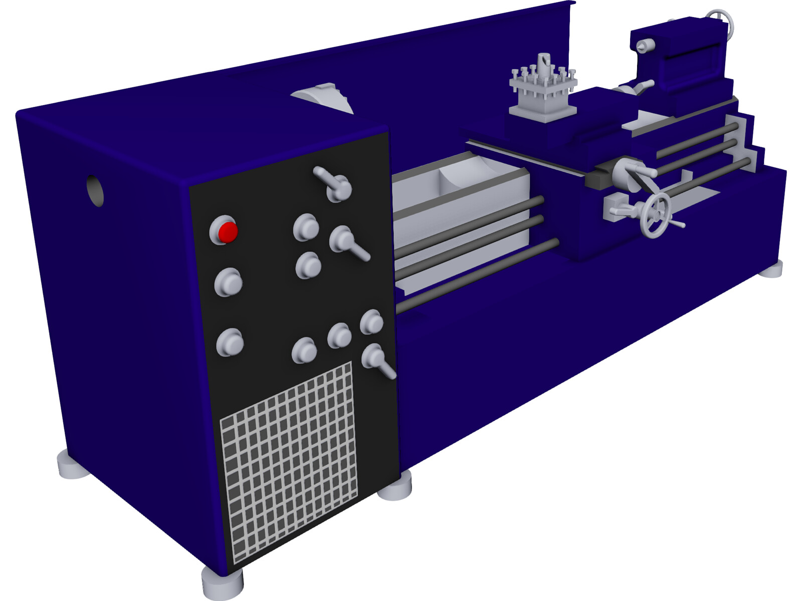 Lathe 3d Cad Model Download 3d Cad Browser