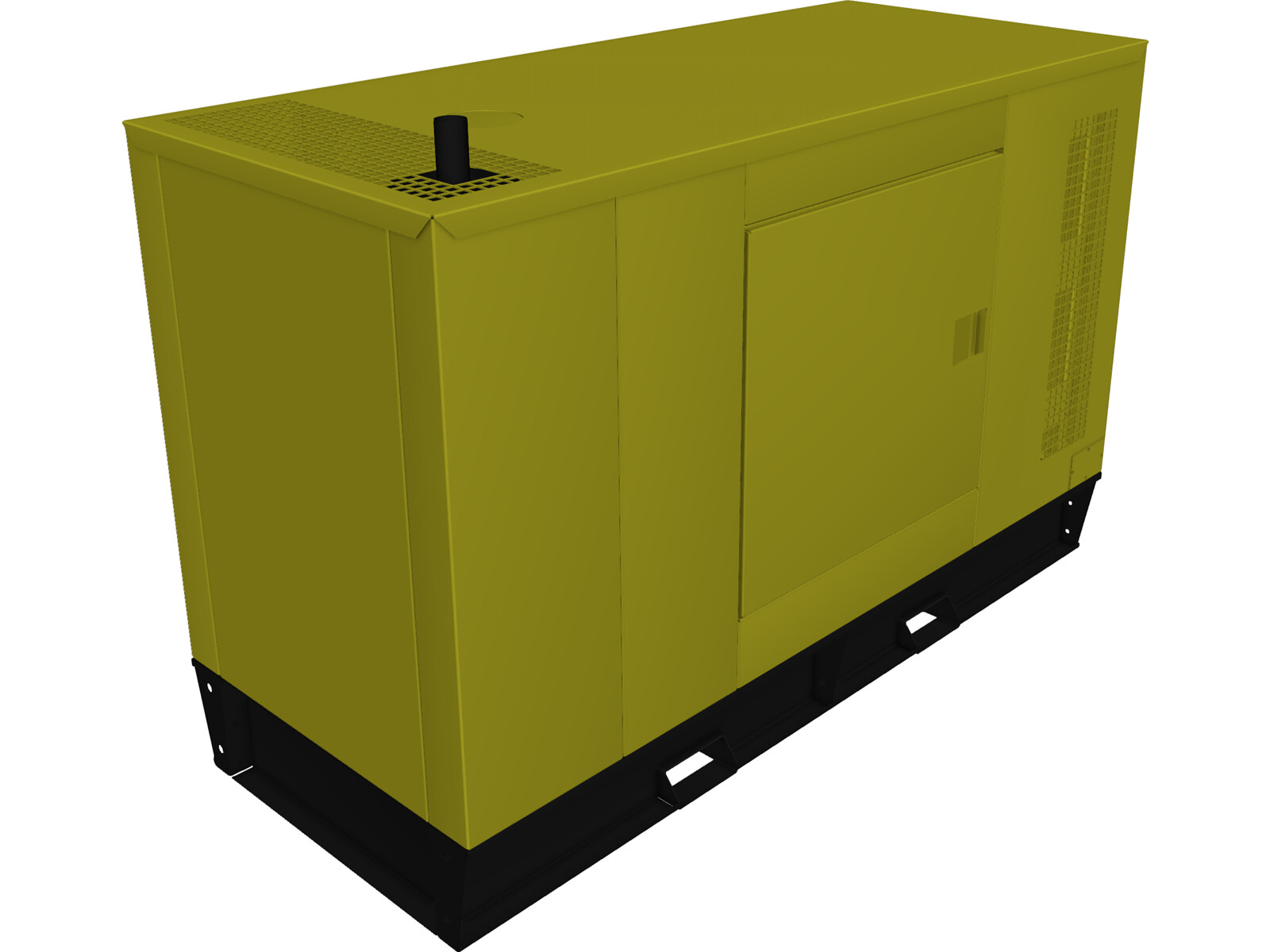 Diesel Generator Type A 3d Cad Model 3d Cad Browser