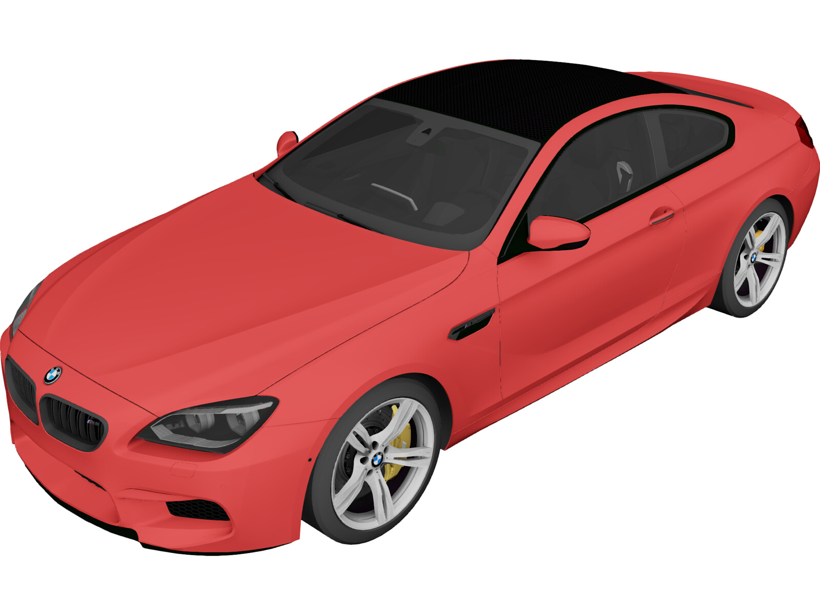 BMW M6 Coupe [F13] (2013)