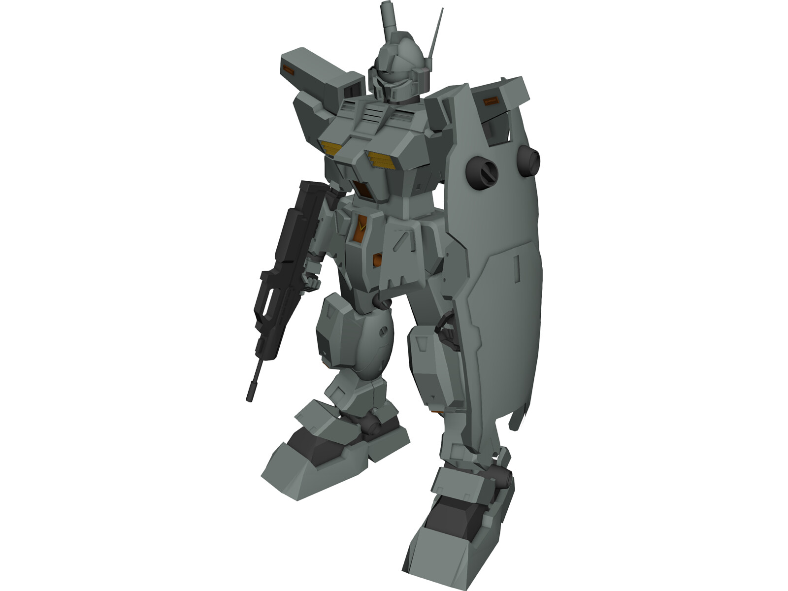 Gundam RGM-79N GM Custom